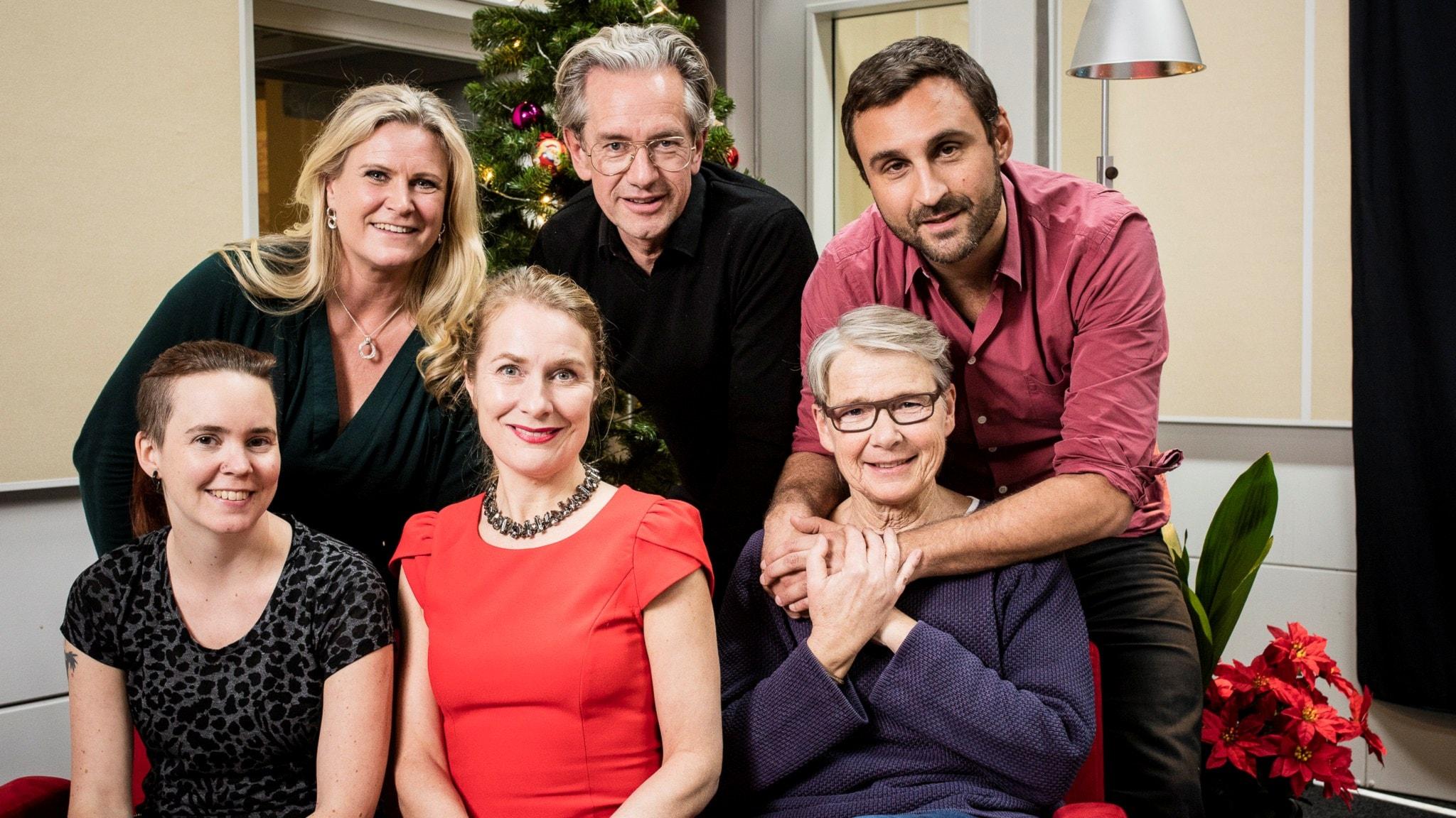 Marianne Hasslow, Camilla Kvartoft, Anders G Carlsson och Johar Bendjelloul