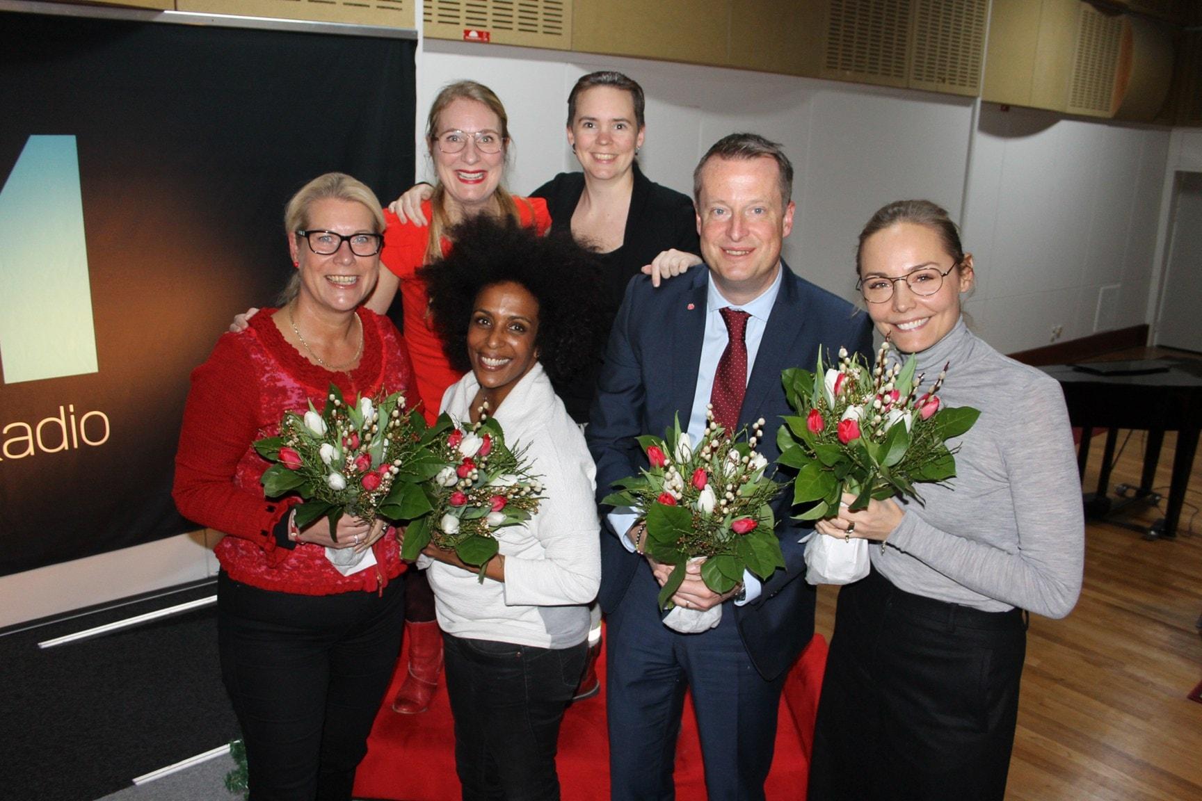 Anders Ygeman, Carina Berg, Catharina Elmsäter Svärd och Marika Carlsson