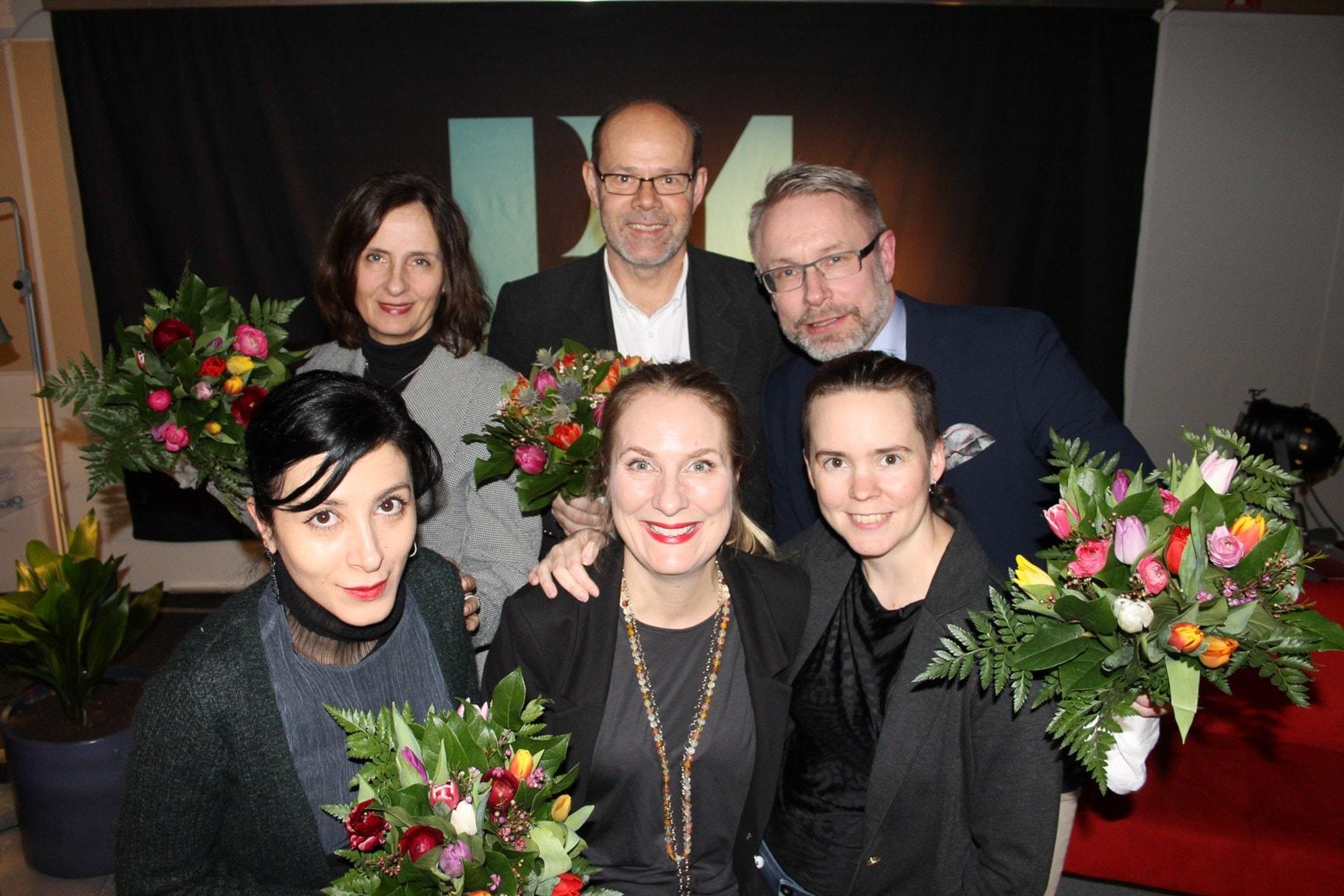 Susanna Alakoski, Sara Abdollahi, Daniel Alling och Dag Malmqvist!