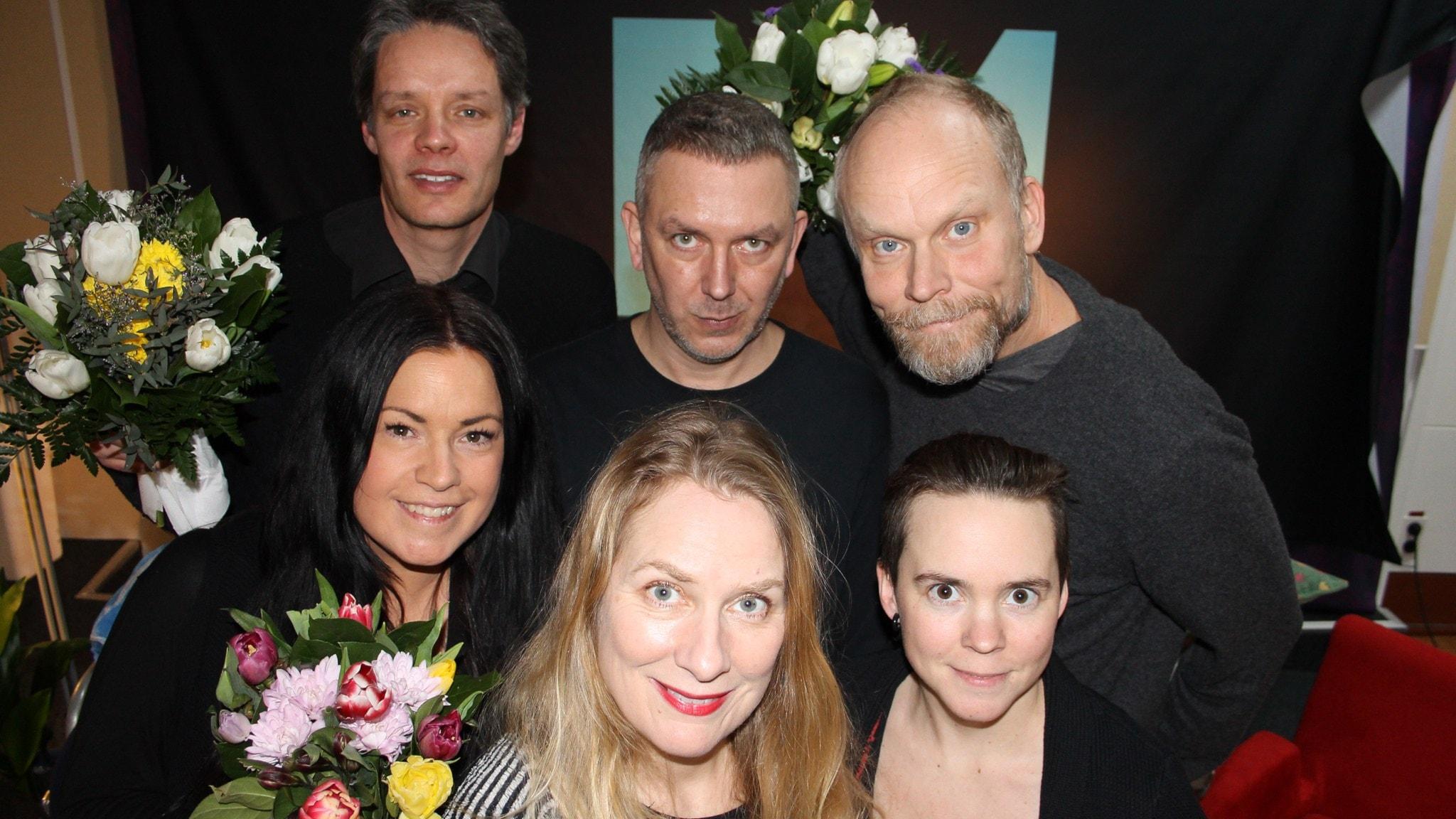 Kristian Luuk och Andres Lokko tävlar mot Martina Thun och Ulf Danielsson