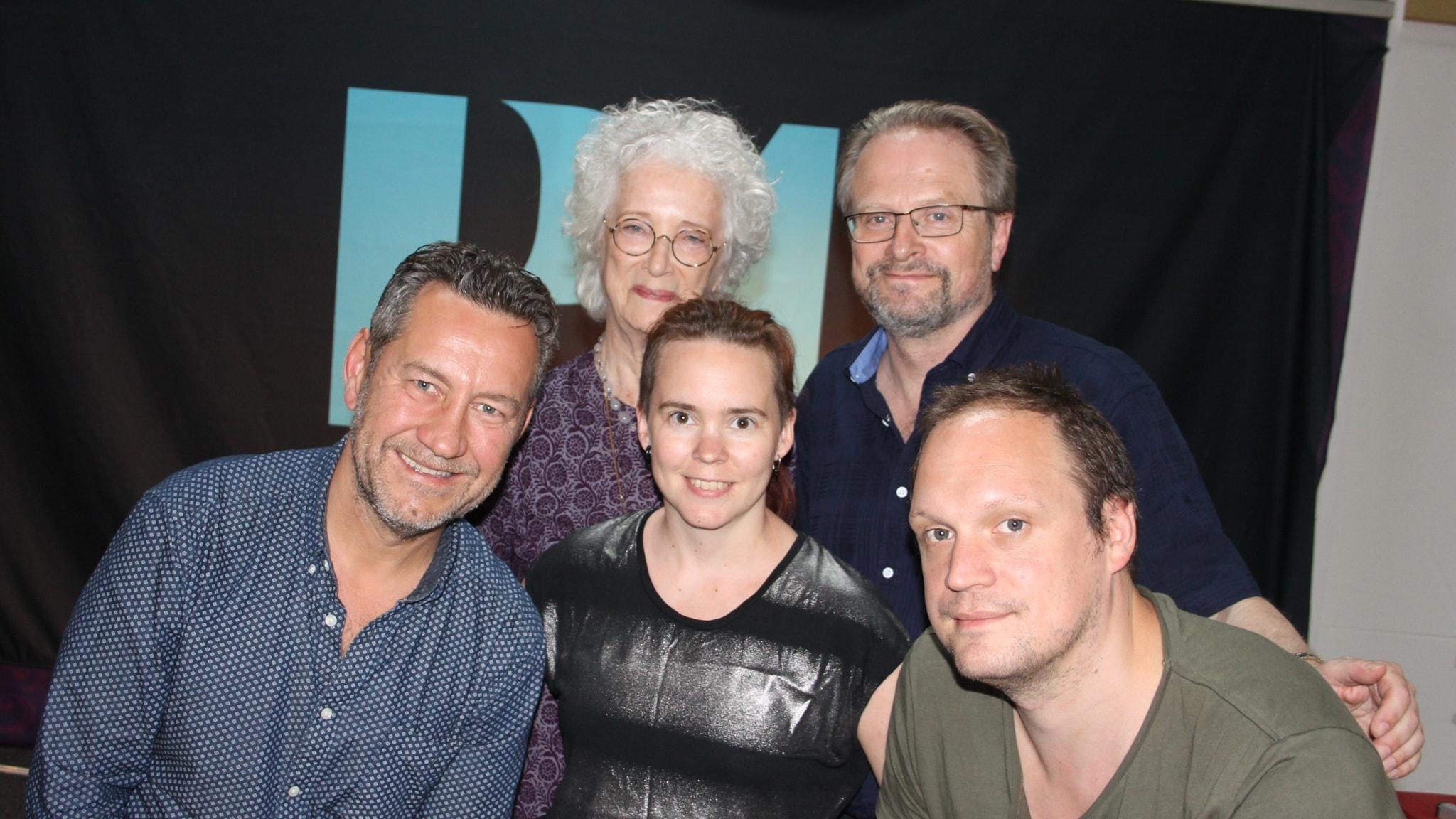 Lantzkampen inställd pga sjukdom. Istället blir det Karstens middag med Sara Lövestam, Jonatan Unge, Sandro Scocco och Magdalena Ribbing.