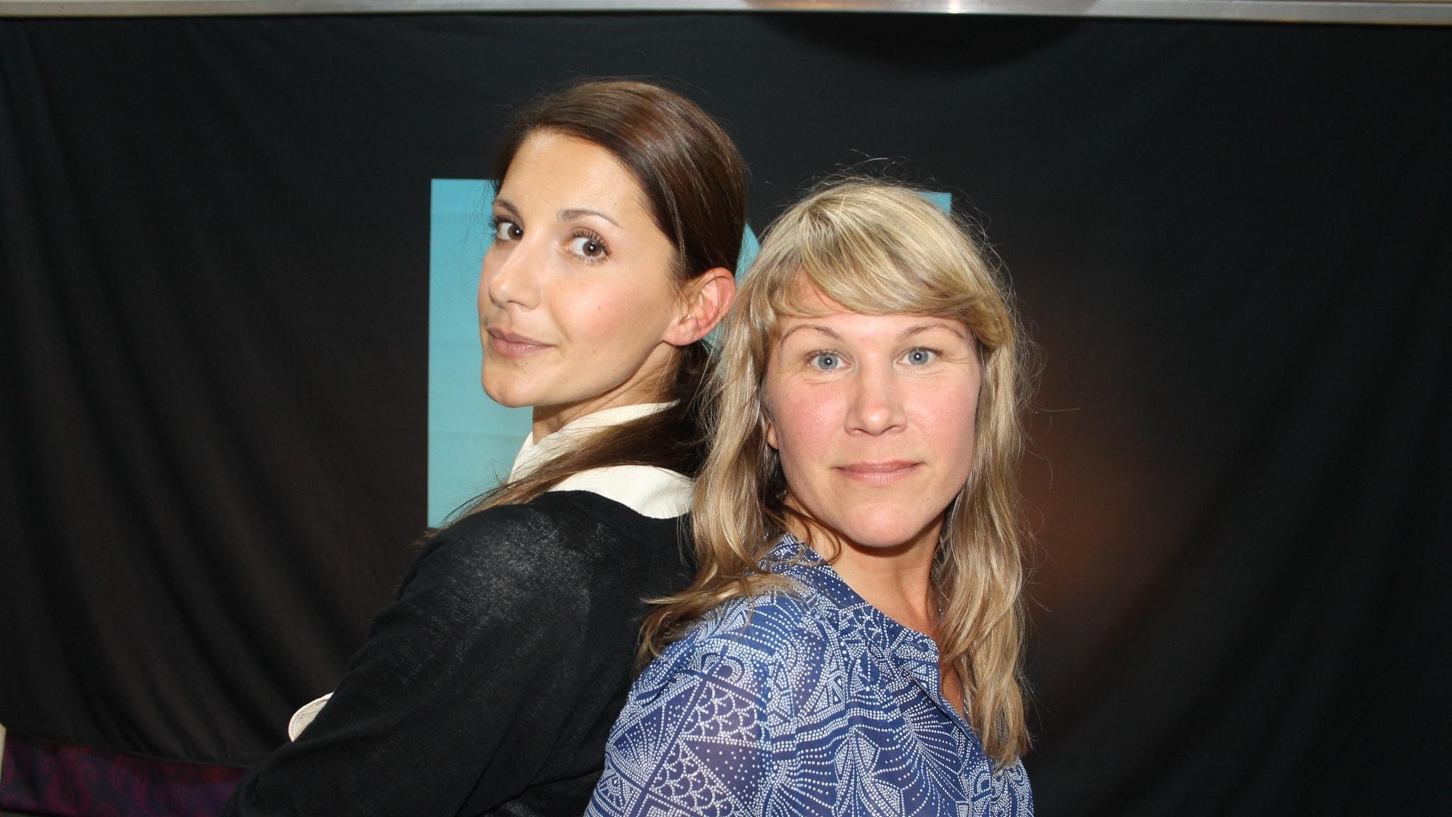 Nina Zanjani, Jenny Andreasson, Henrik Hjelt och Mattias Konnebäck