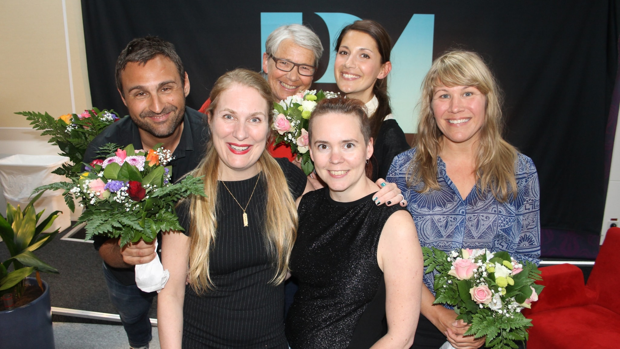 Nina Zanjani, Jenny Andreasson, Johar Bendjelloul och Marianne Hasslow!
