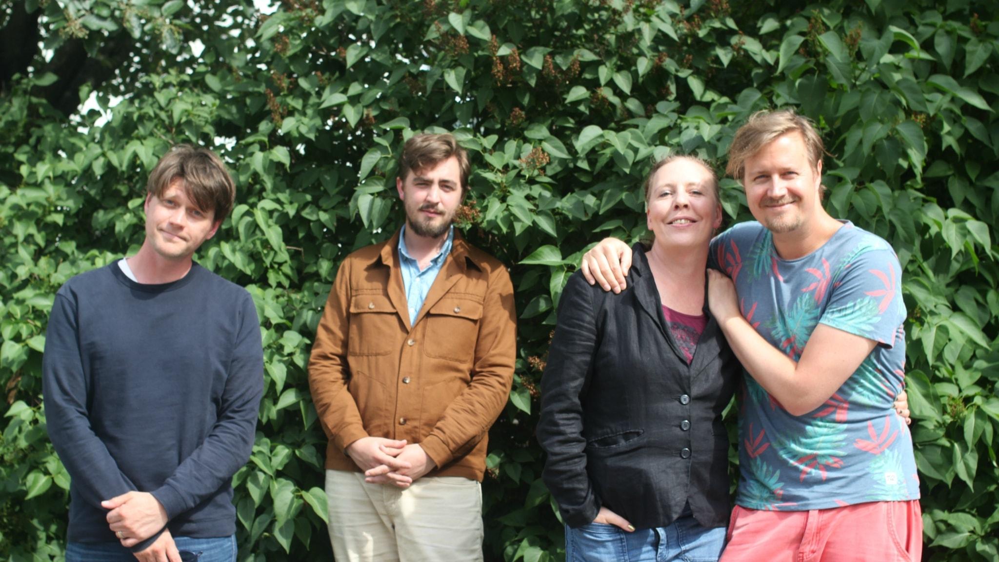 År 2008 - med Jack Werner, Martina Monteilus och Daniel Sjölin!