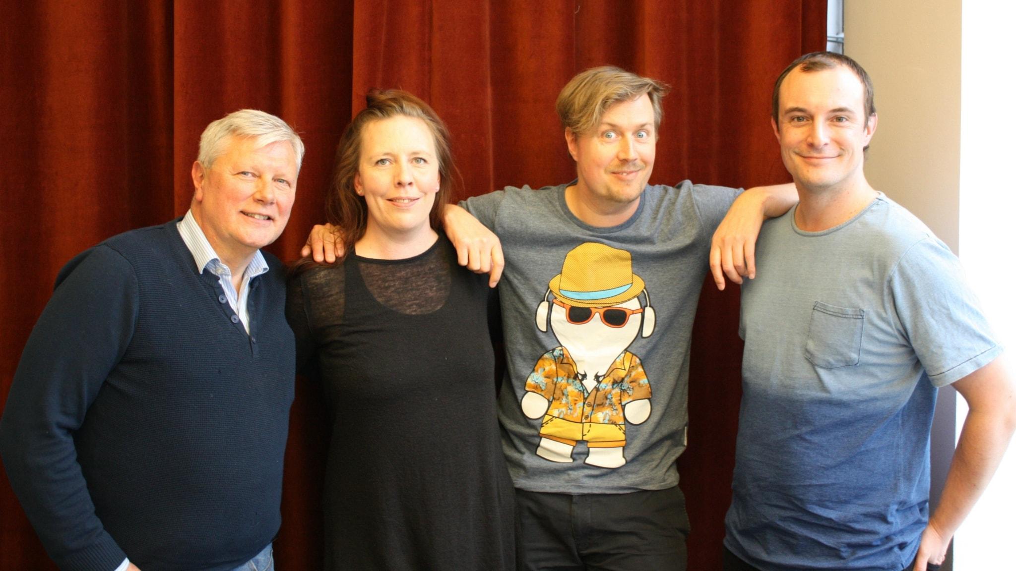 År 2000  - med Martina Montelius, Lars Ohly och Johan Hilton!