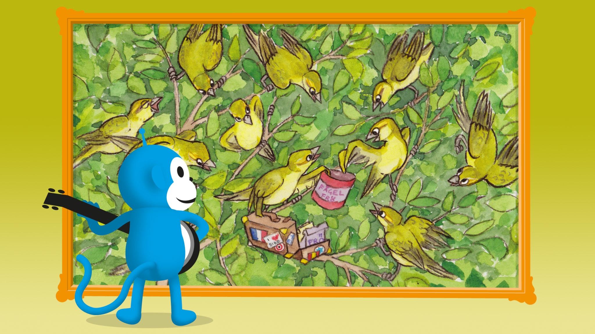 Radioapans fågelsånger: Lövsångaren