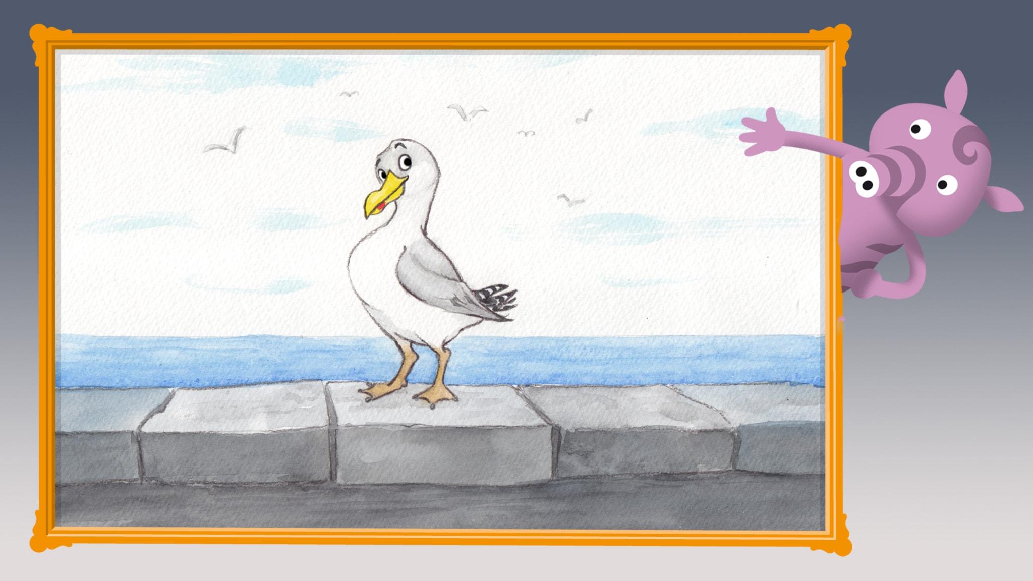 Radioapans fågelsånger: Gråtruten