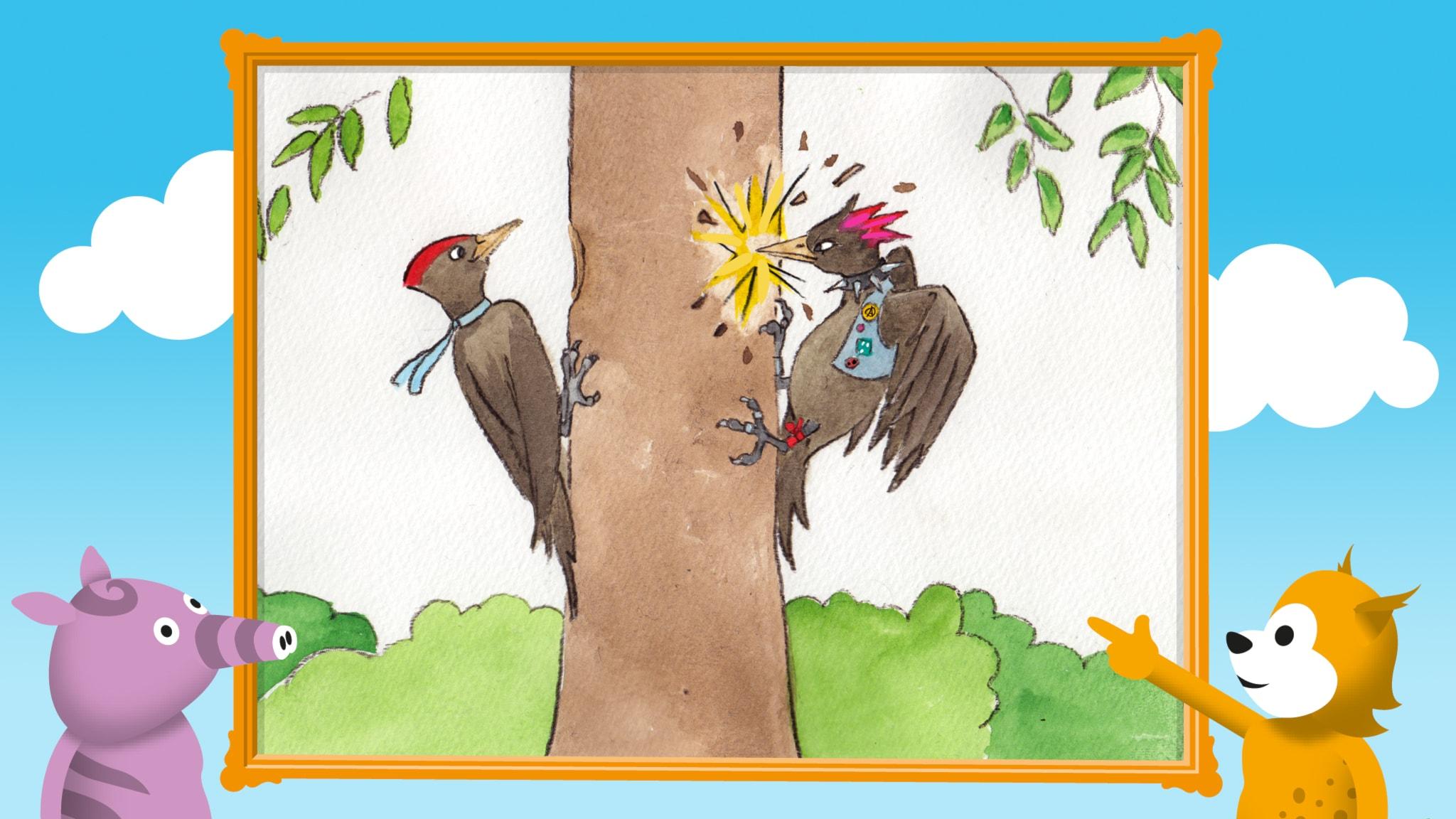 Radioapans fågelsånger: Spillkråkan
