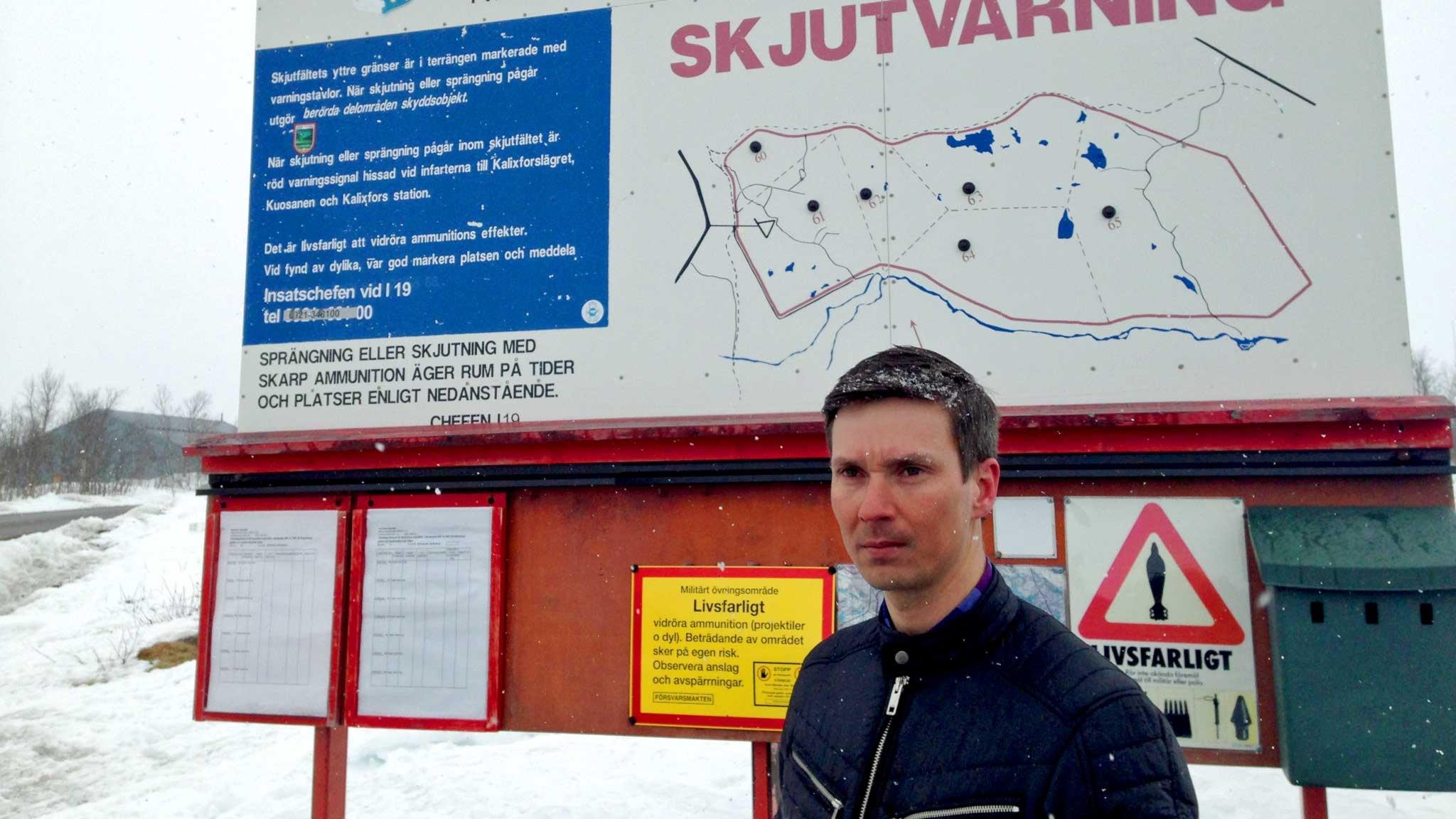 Ekot special: Norrland - spelplats för en av världens största flygövningar - spela