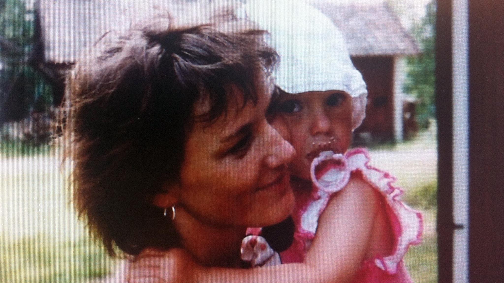Till mamma, som dog i bröstcancer