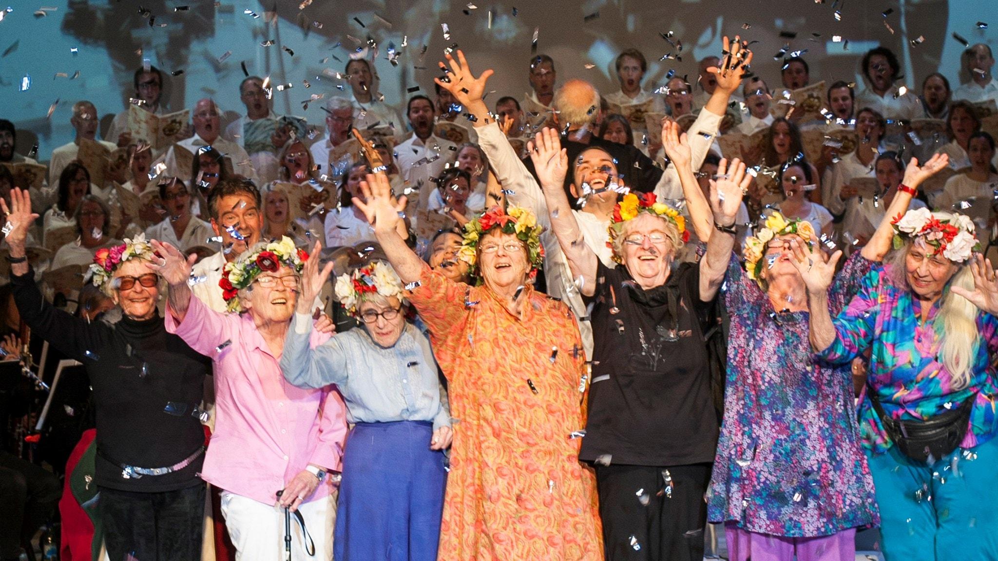 Sagan om Carmina Burana och de sju 80-åriga damerna i Globen