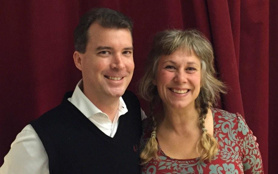 Stina och David om livet med döden