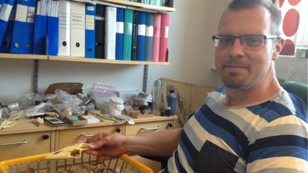 Jurassic Park fick Johan Lindgren att bli forskare