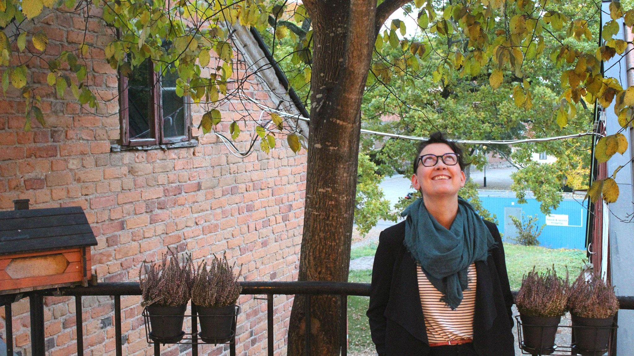 Anna-Sofia Maurin får tänka så det knakar när hon metafysik-forskar