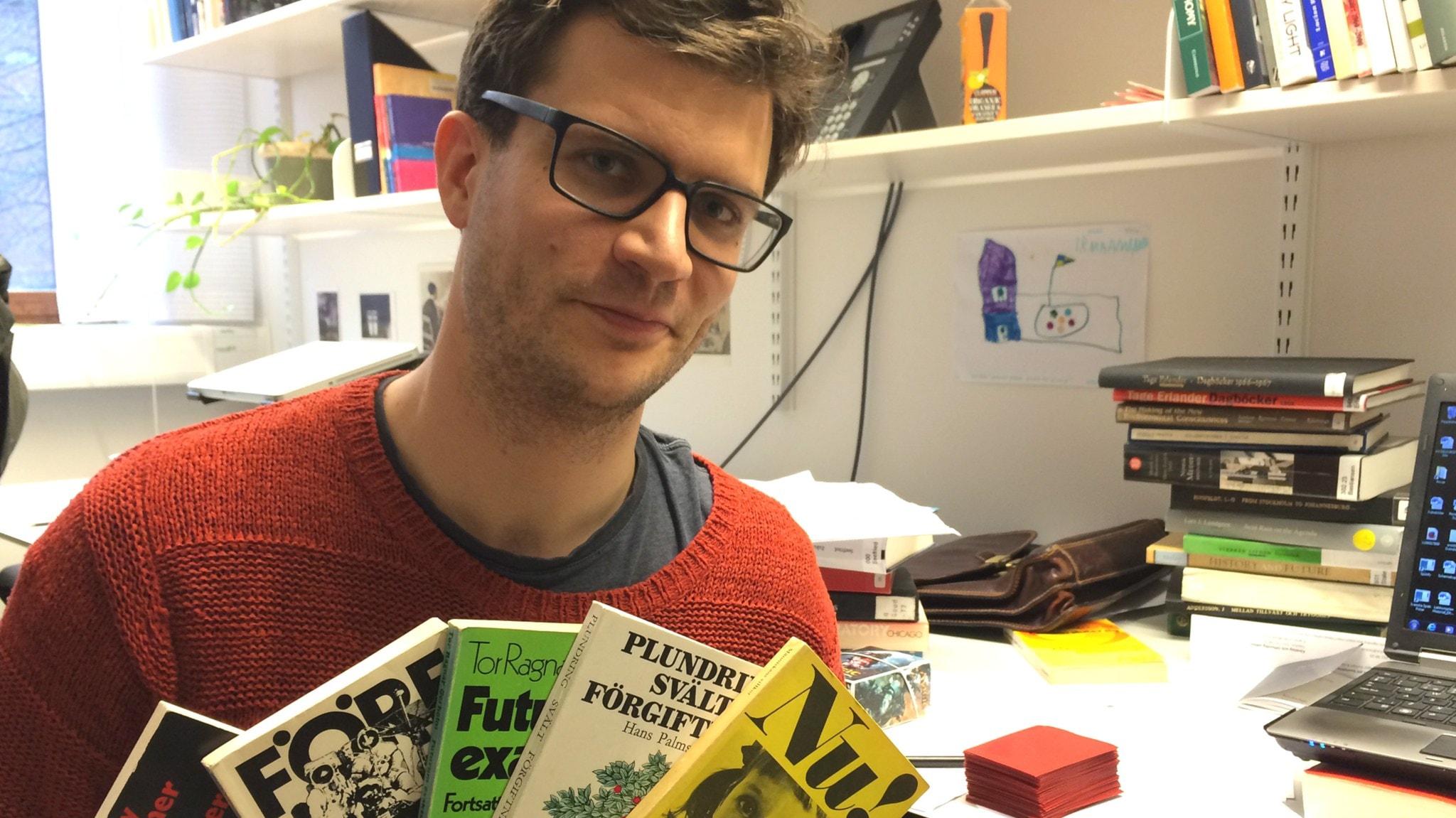Historiker David Larsson Heidenblad avslöjar miljöfrågans genombrott