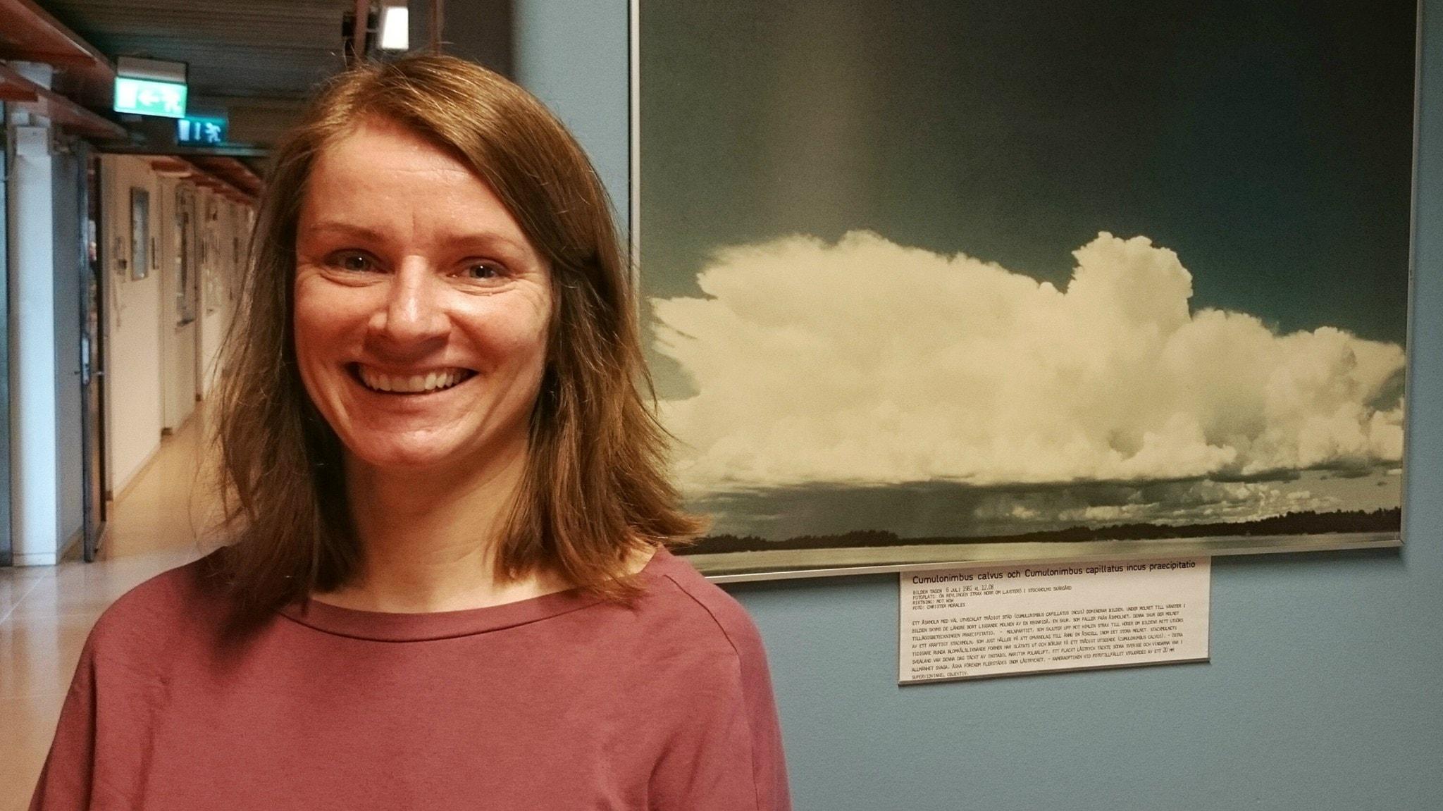 Annica Ekman har labbet bland molnen