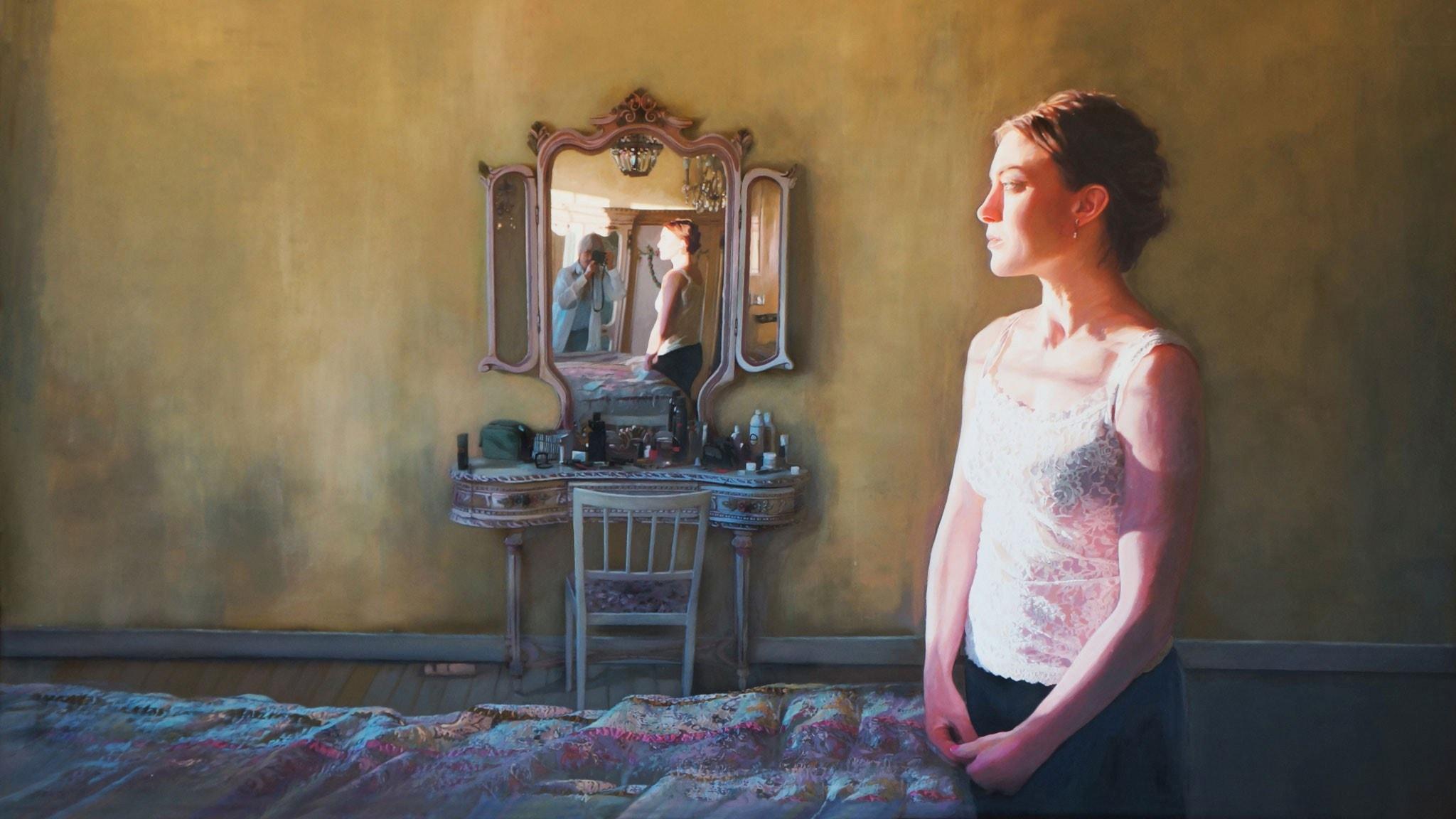 Karin Broos och måleriet.