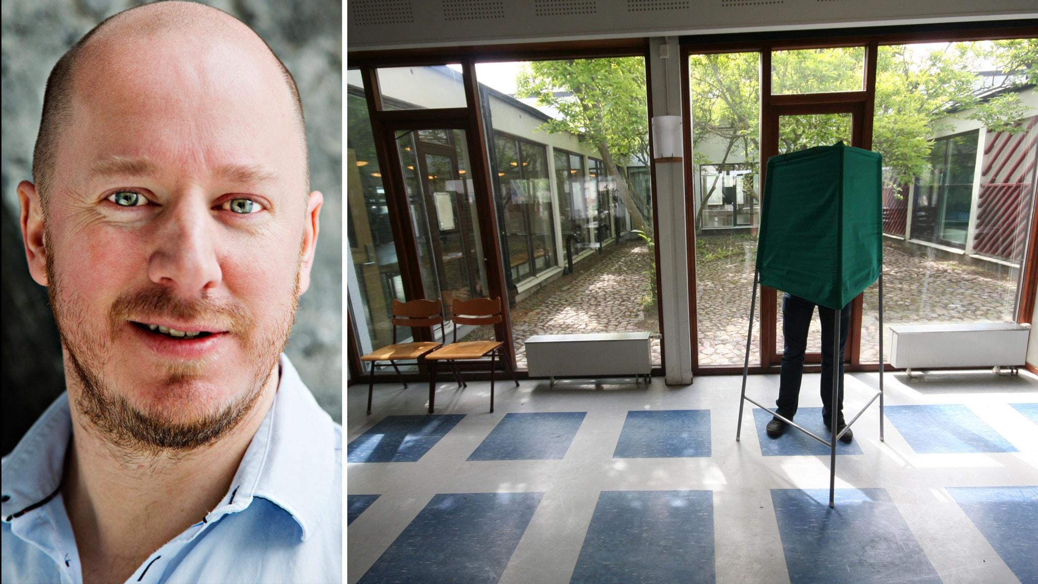 Sverige Röstar – valdagen i P1