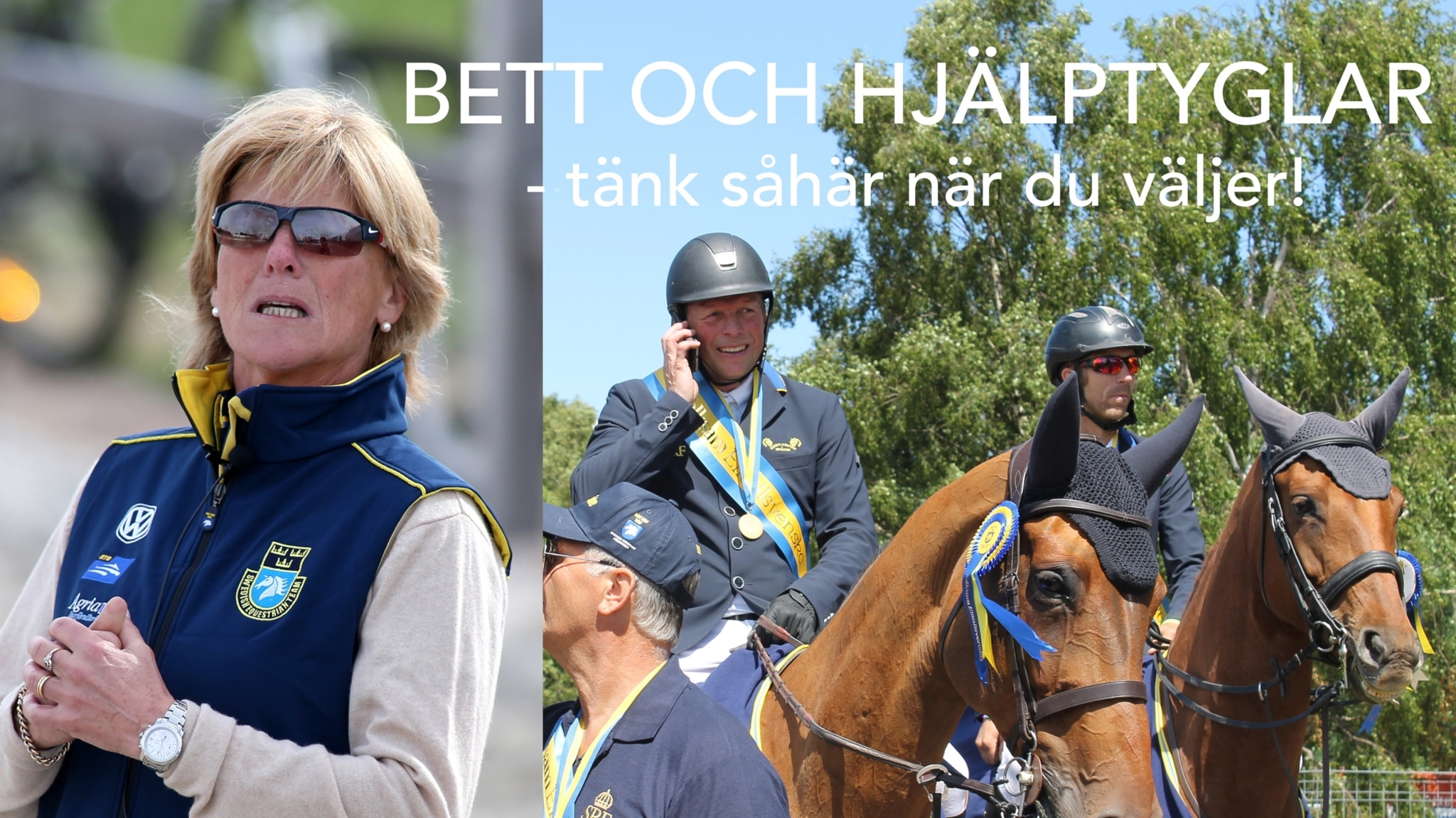 Bett och hjälptyglar - med Jens Fredricson och Elisabet Lundholm