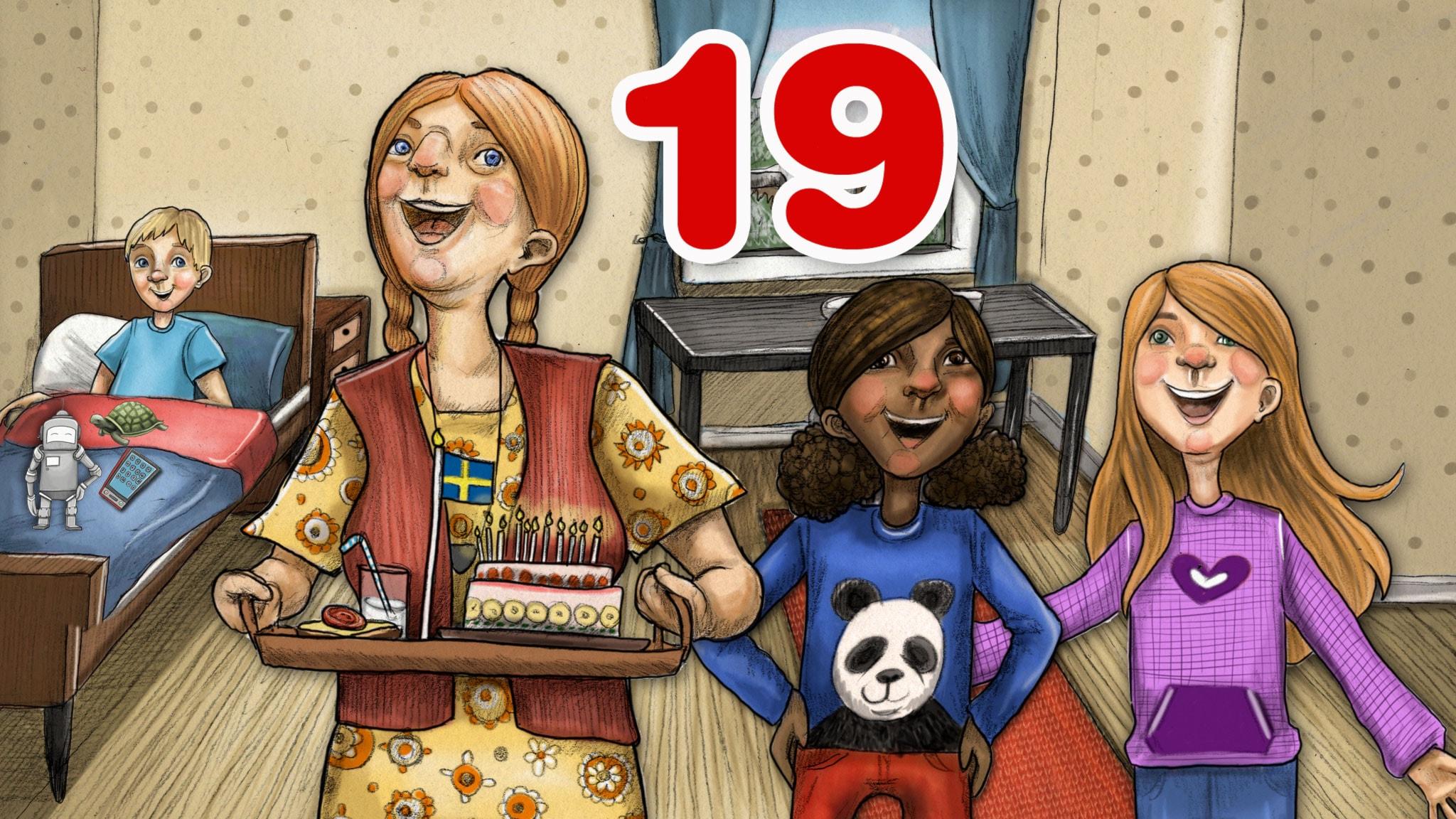 Del 19: Födelsedagen