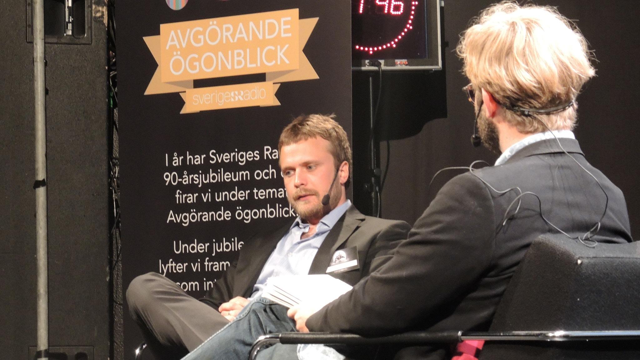 David Carlqvist om att sova bland lik