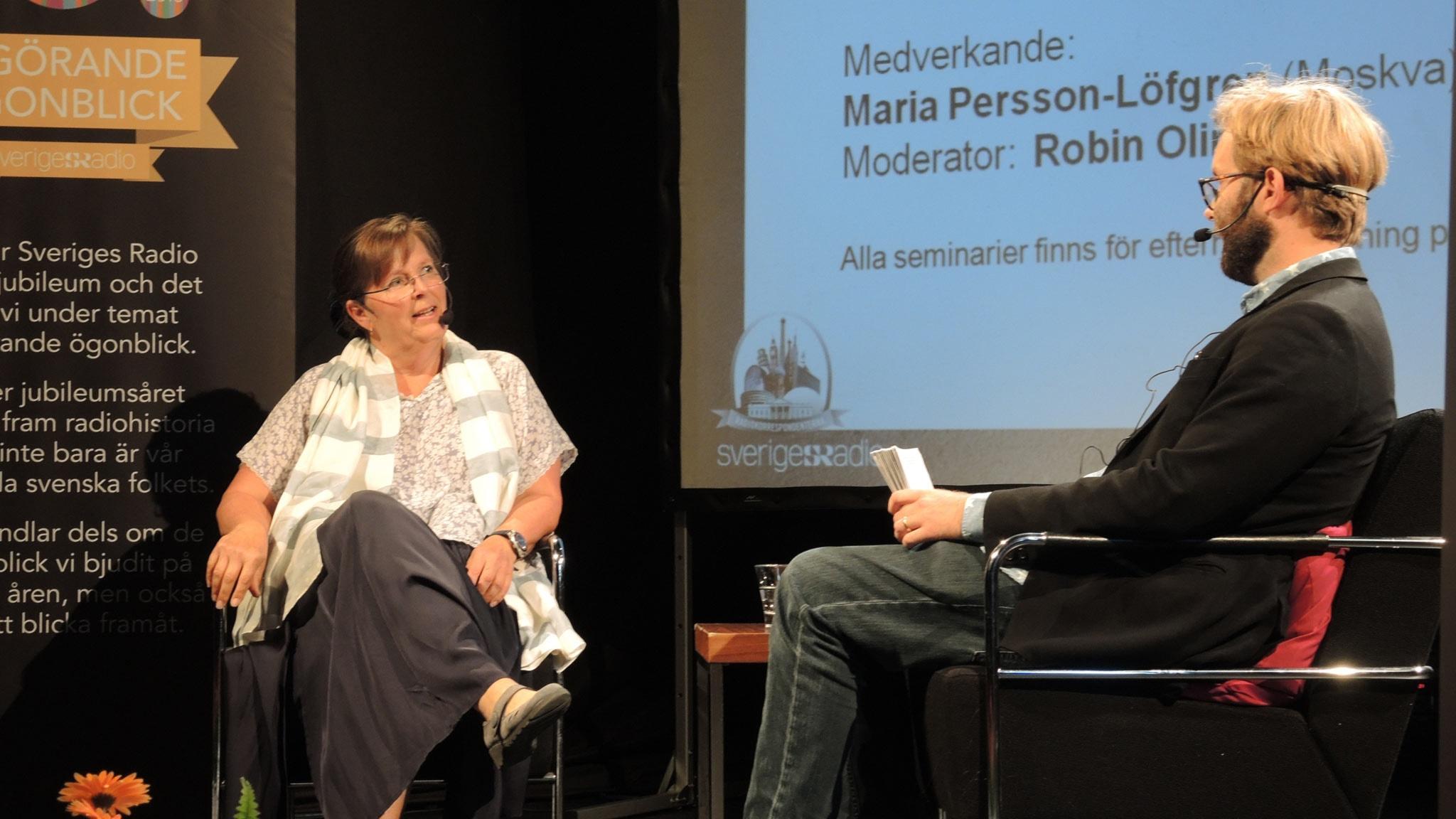 Maria Persson-Löfgren om när pricksskyttar sköt ner demonstranterna