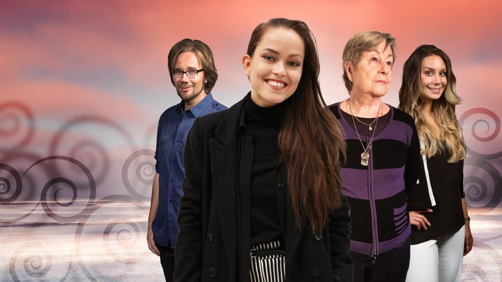 Amanda lever genom musiken och Wuokko tror på godheten