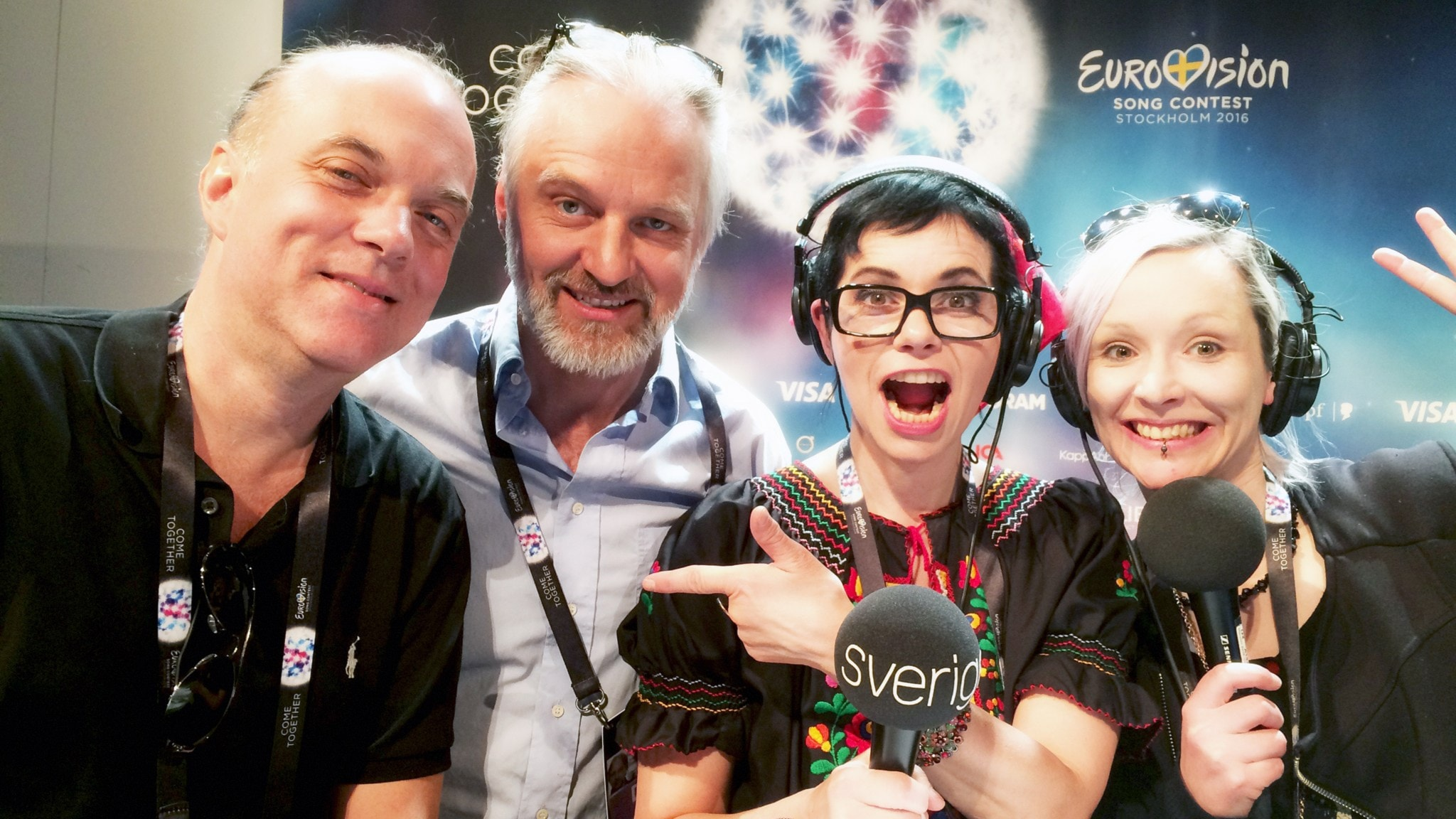 Eurovisionspecial i Talkshow i P4 med Carolina Norén och Björn Kjellman