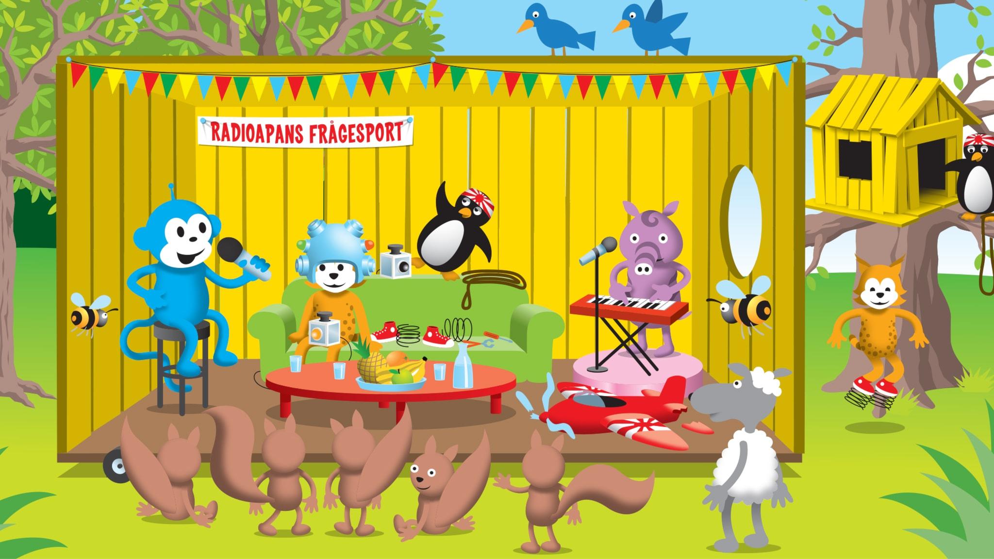Del 6: Vilket djur kan hoppa högre än Radioapans koja?