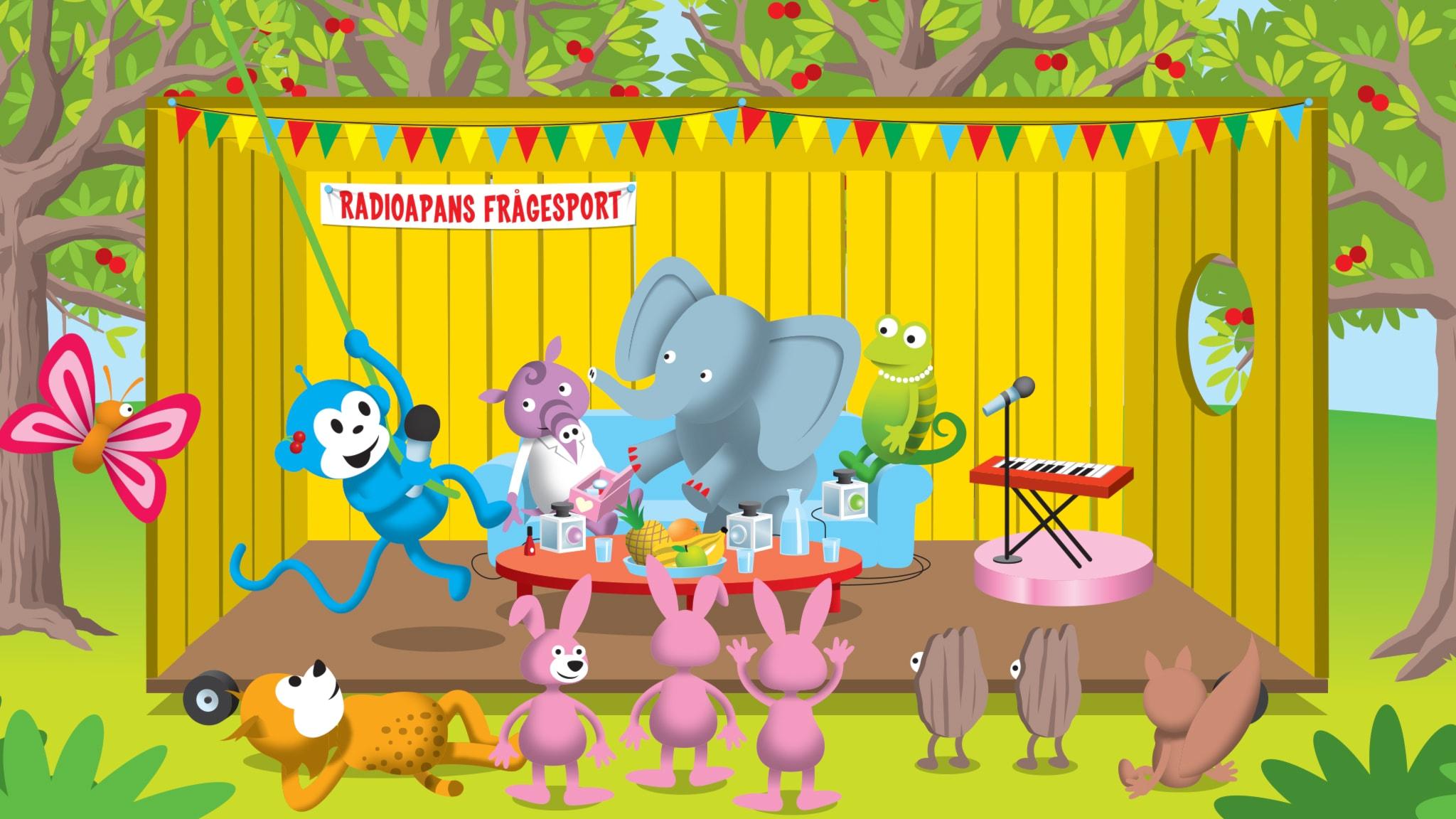Del 9: Varför målar elefanter tånaglarna röda?