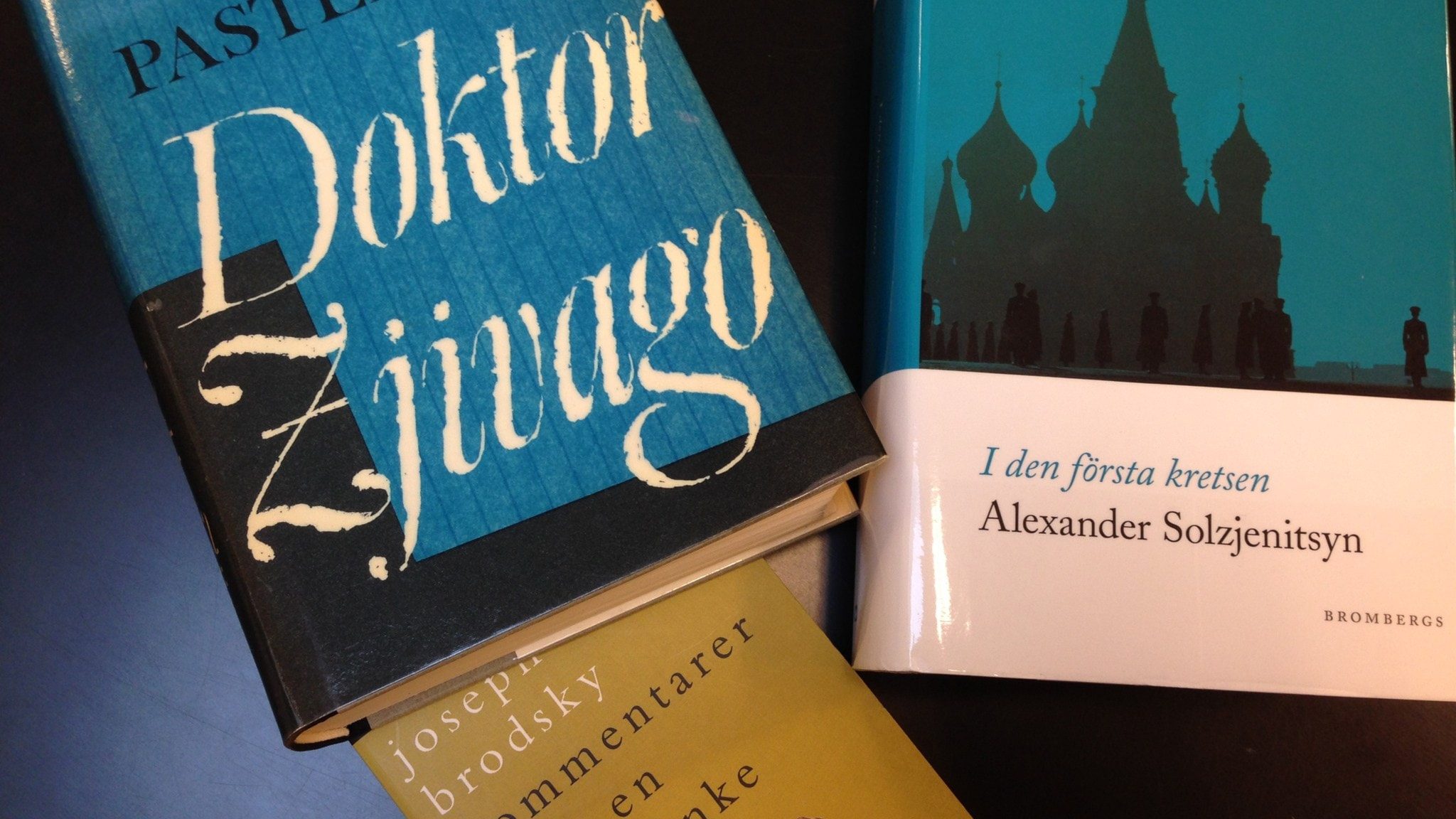 De ryskspråkiga Nobelprisen i litteratur