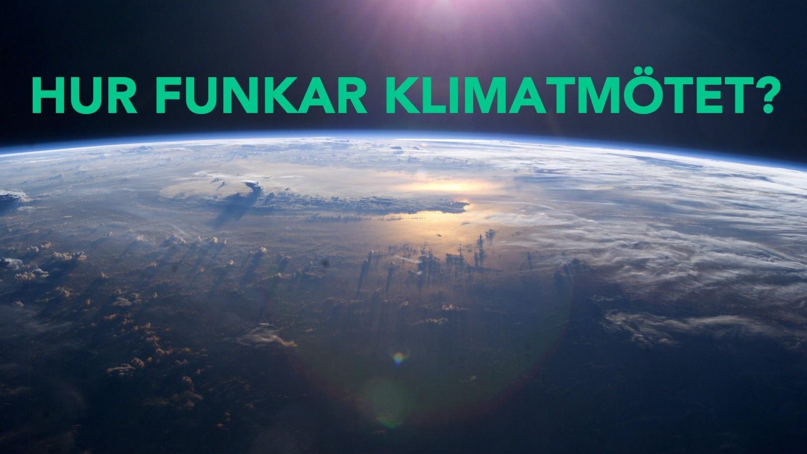 P3 Om Klimatmötet