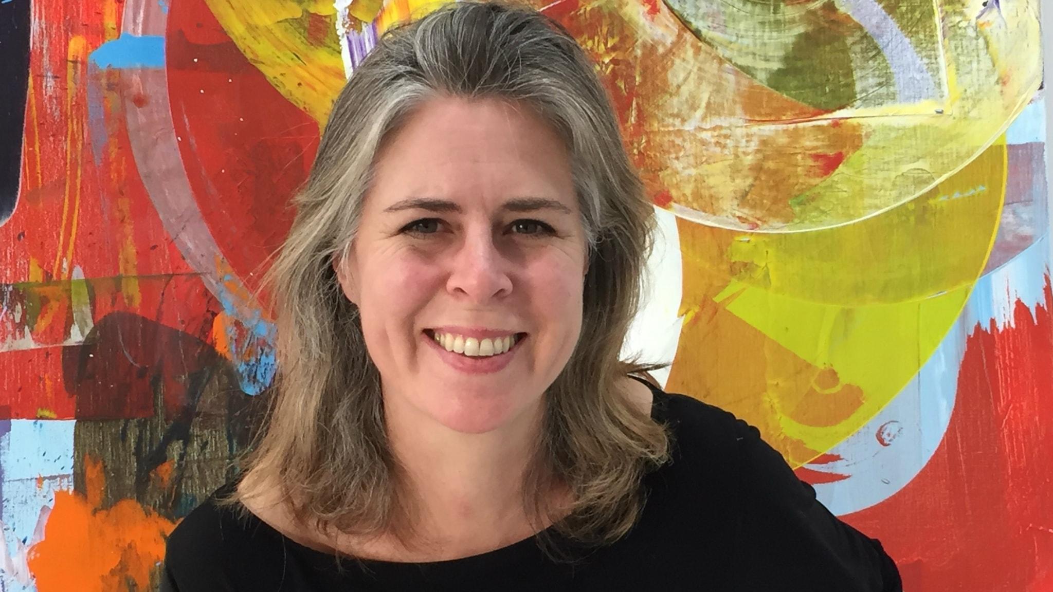 Astrid Sylwan: Målningarna är som dagboksanteckningar
