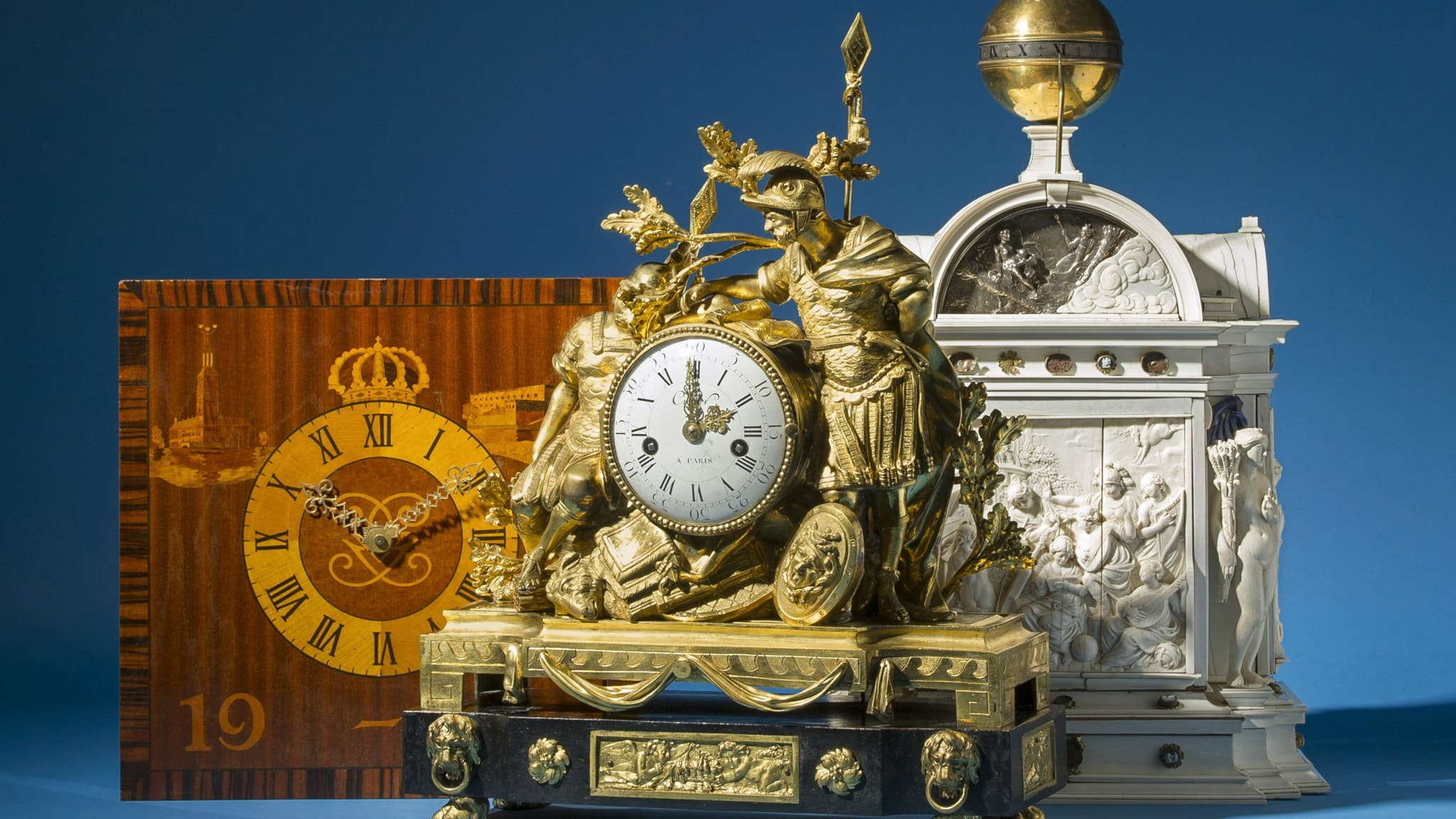 Kungliga klockor i tiden