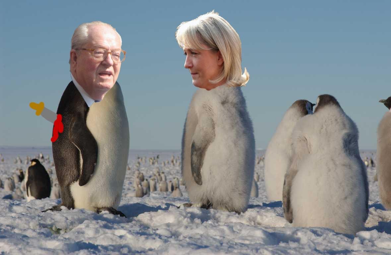 #15. Marine Le Pen - Pingvinen som högg sin far i ryggen och vred om