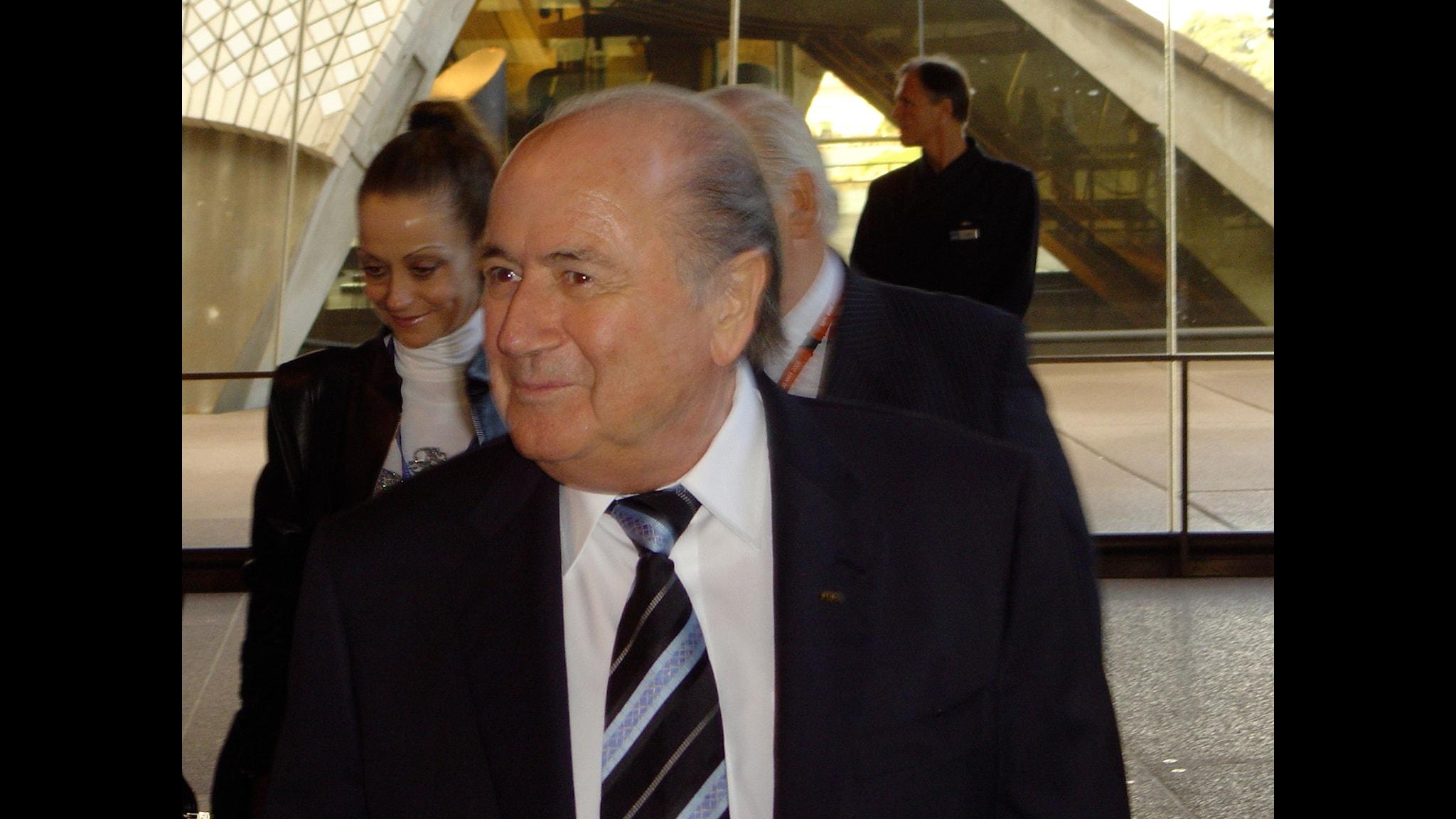 #19. Sepp Blatter - att vinka adjö med en podd