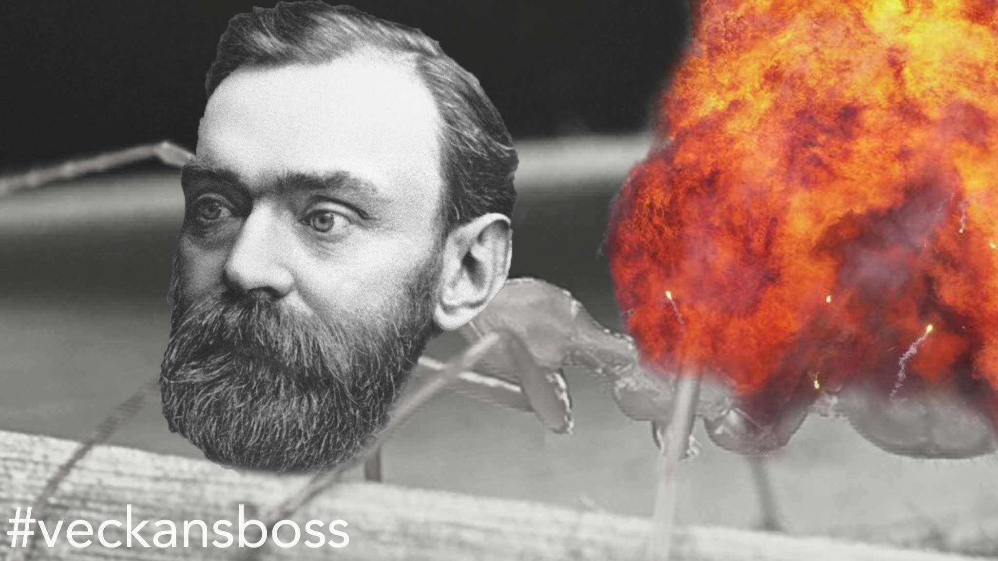 #41. Alfred Nobel - Det ynkliga halvlivet blev dödens handelsman