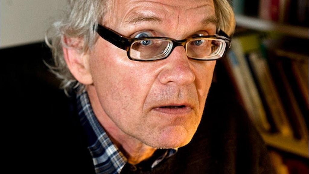 Lars Vilks. Foto: Björn Lindgren/Scanpix.
