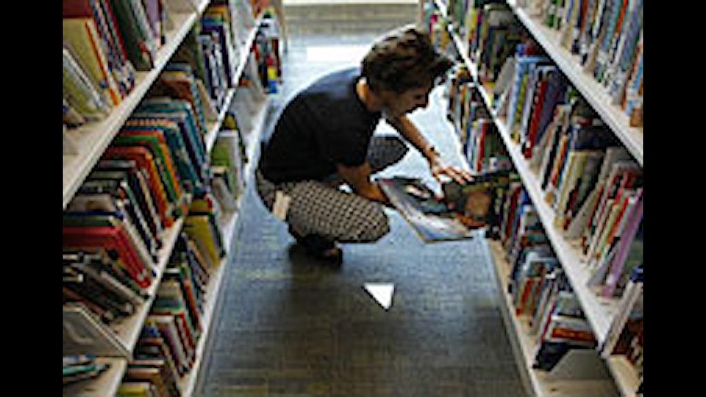 Många frågor kring nya kraven på skolbibliotek. Foto: Alex Brandon/Scanpix