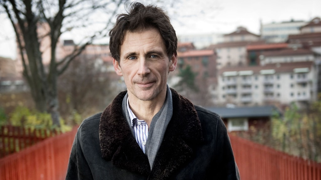 David Lagercrantz will finish the fourth book in Stieg Larsson's best-selling Millennium series. Photo: Malin Hoelstad / SvD / TT