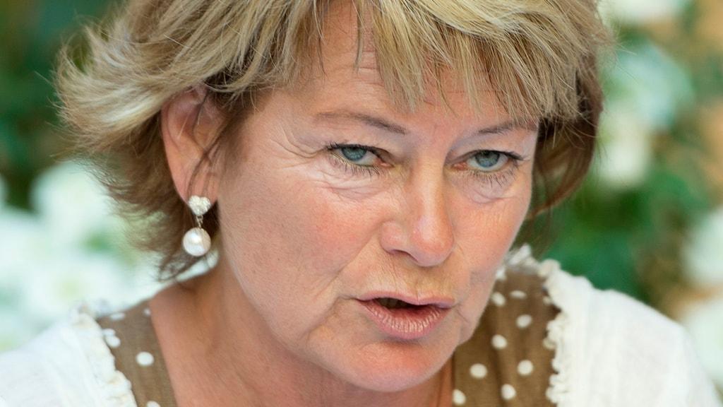 Lena Adelsohn Liljeroth (M), kultur- och idrottsminister. Foto: Maja Suslin/TT