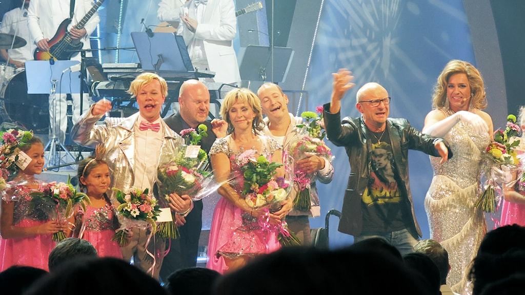 """Ur """"Livet är en schlager"""" på Cirkus i Stockholm. Foto: Björn Jansson/SR"""