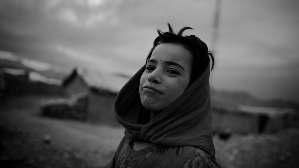 """I utställningen """"Flykt"""" visas konflikter och katastrofer som människor flyr från, till Europa. Foto: Anders Hansson (beskuret)"""