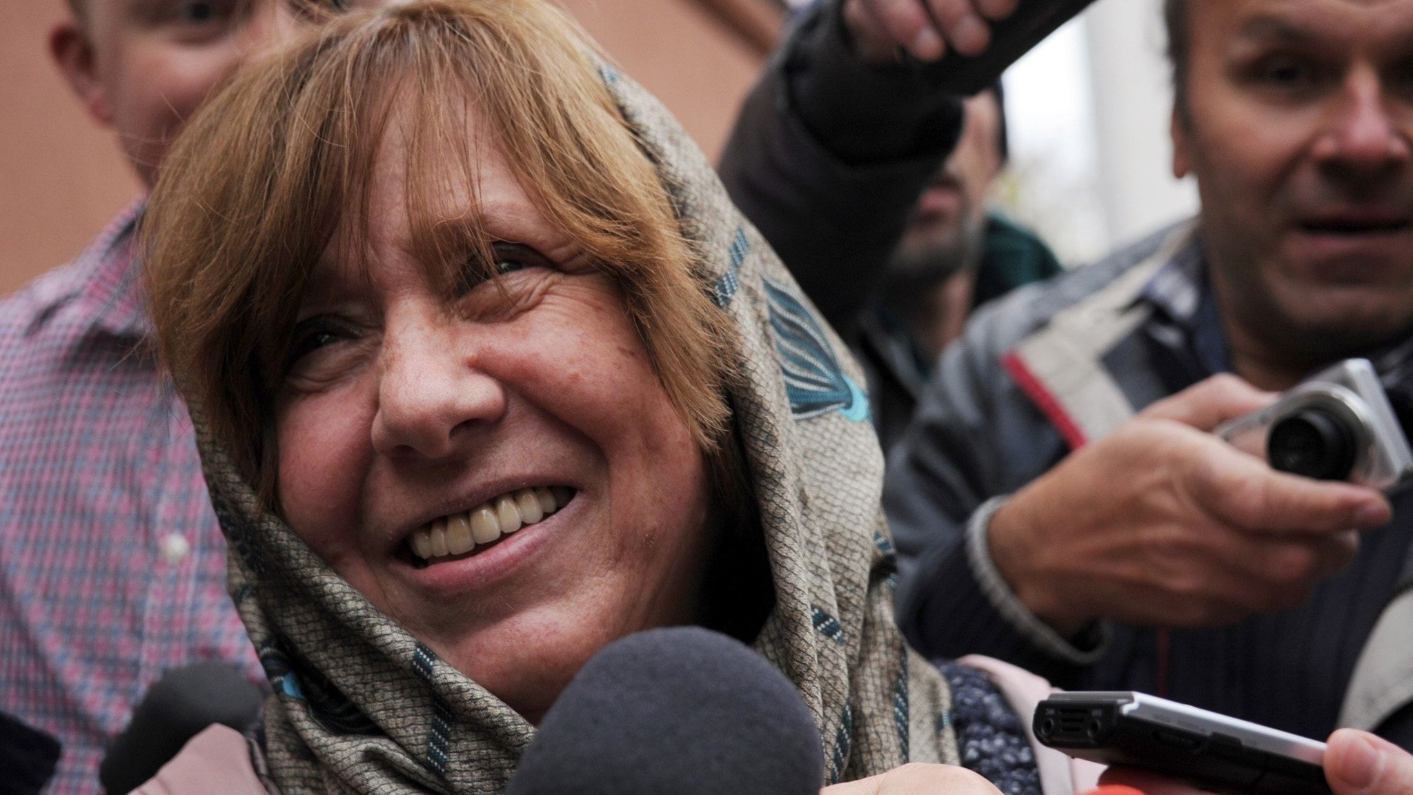 Svetlana Aleksijevitj årets nobelpristagare i litteratur