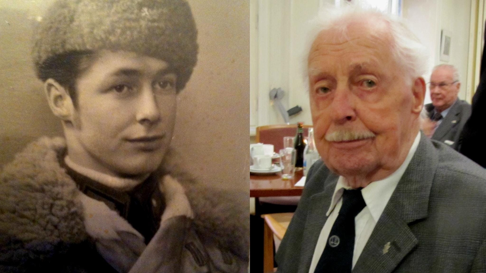 Jatkosodan veteraani Björn Råbergh: Minulla oli hyvä tuuri - haavoituin vain molempiin jalkoihin