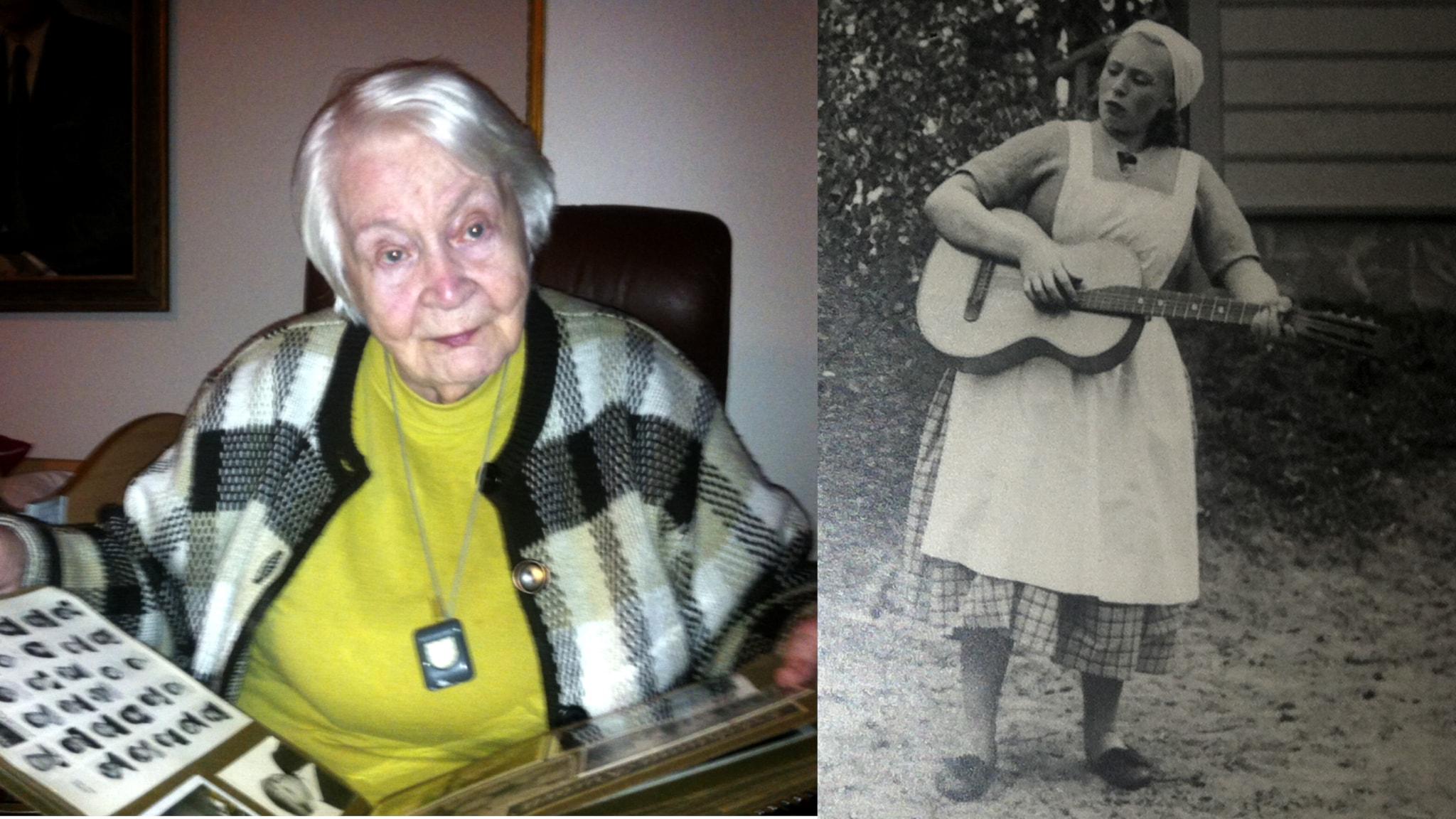 Jatkosodan lotta Karin Holm: Kukaan ei auttanut, kun tulin veturin alta
