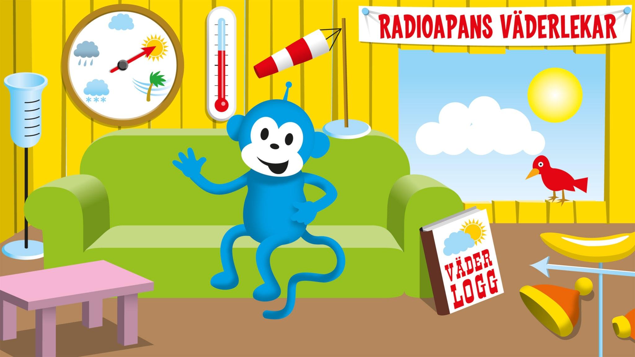 Radioapans vädersånger: Ljudletarväder
