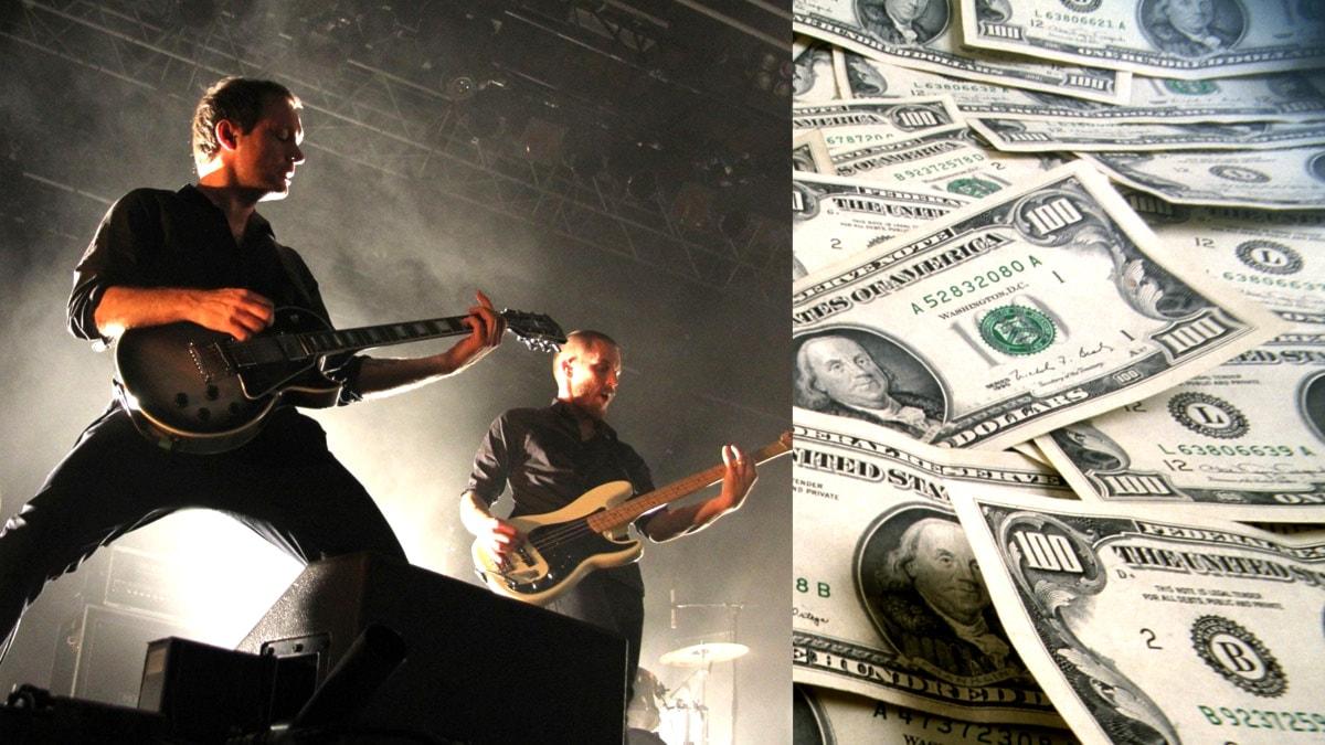 Följer pengarna, del 8: Levande musik