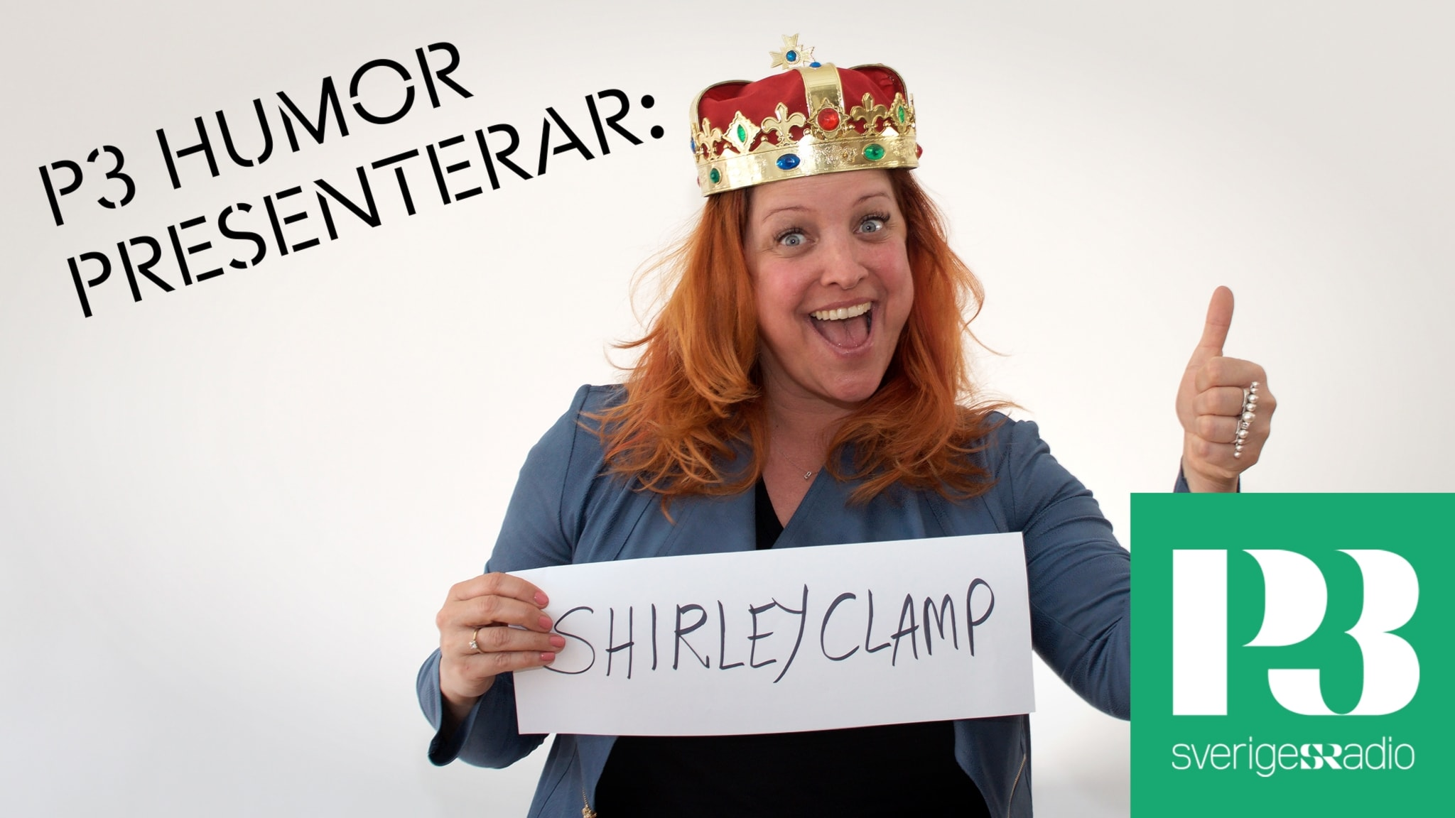 P3 Humor Presenterar: Shirley Clamp