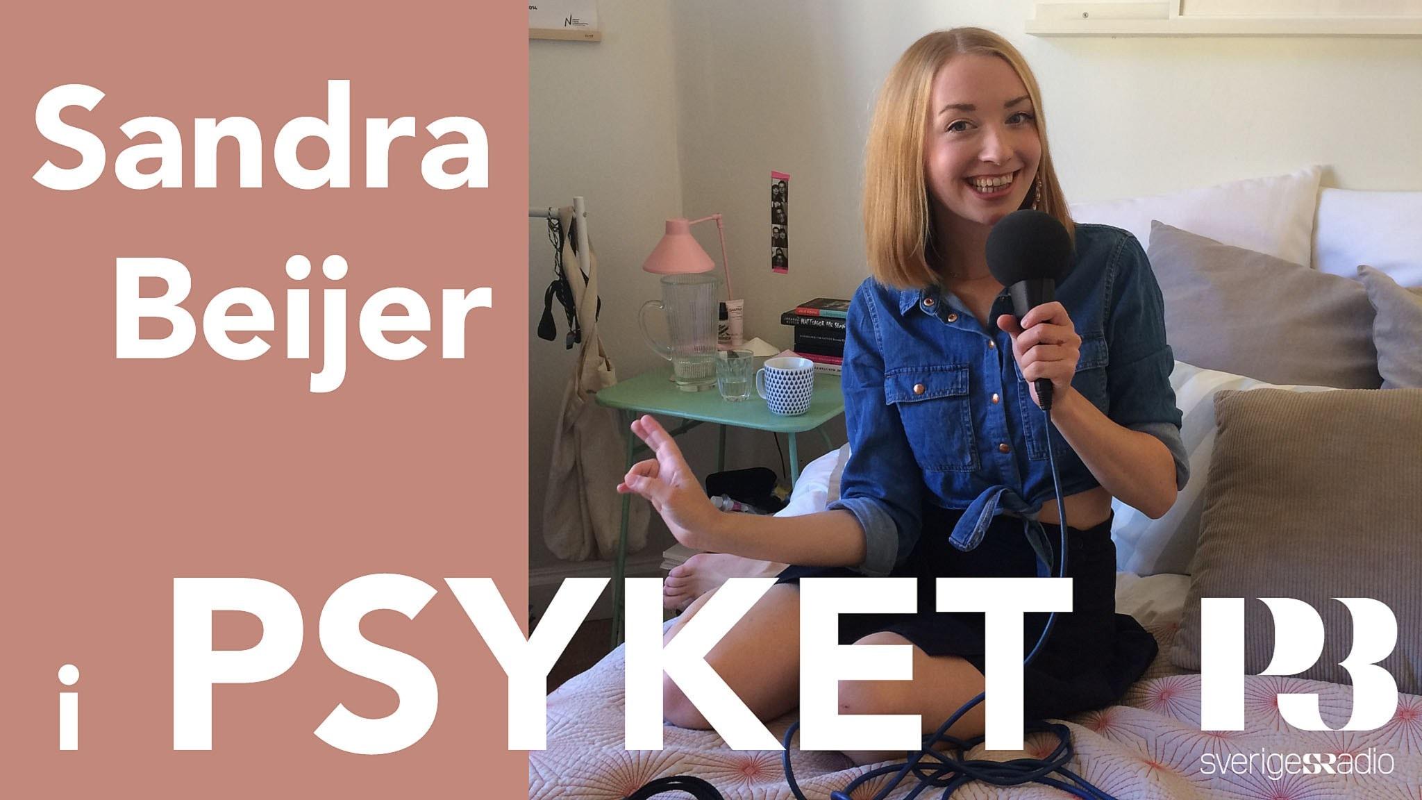 Sandra Beijer om prestationsångest och må bra-strategier